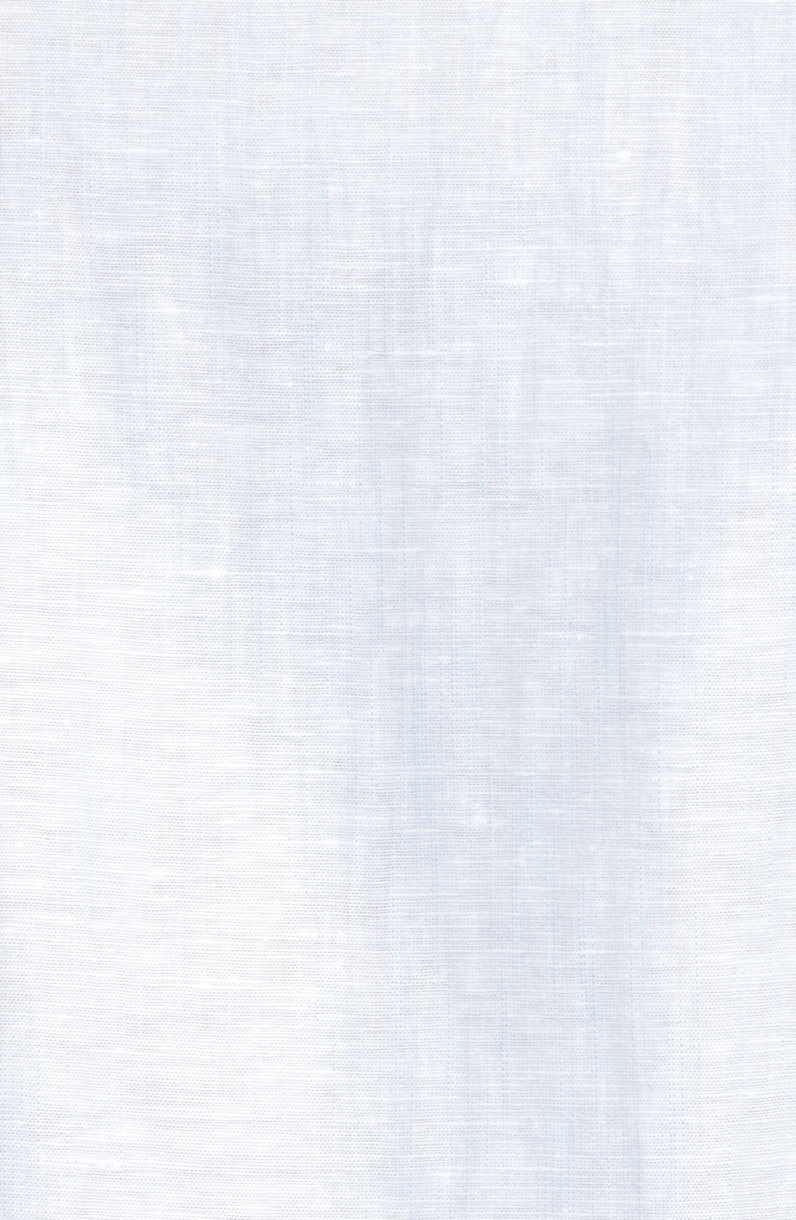 Linlins Herringbone Cotton & Linen Sport Shirt,                             Alternate thumbnail 23, color,