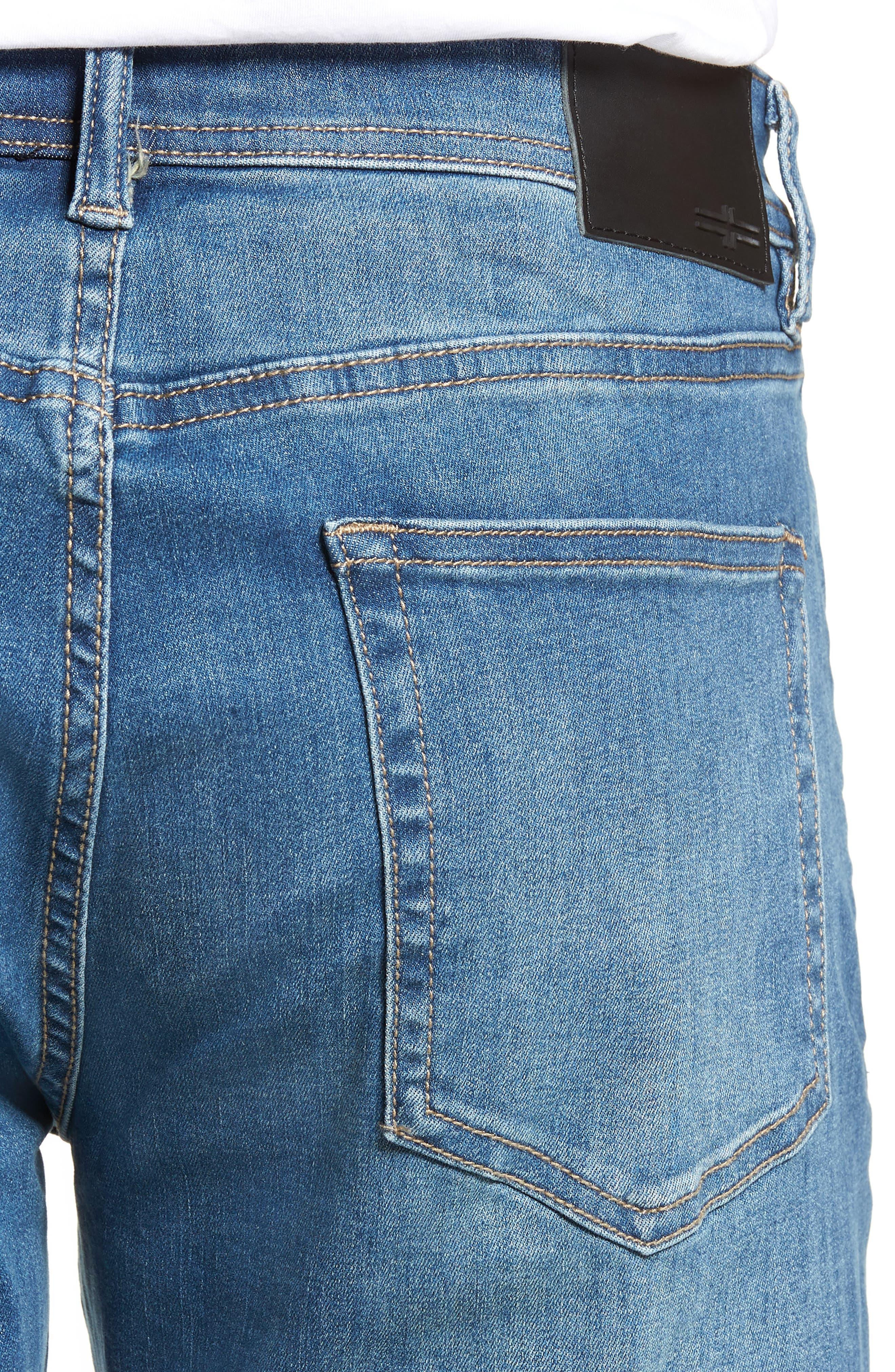 Regent Relaxed Straight Leg Jeans,                             Alternate thumbnail 4, color,                             LORAIN