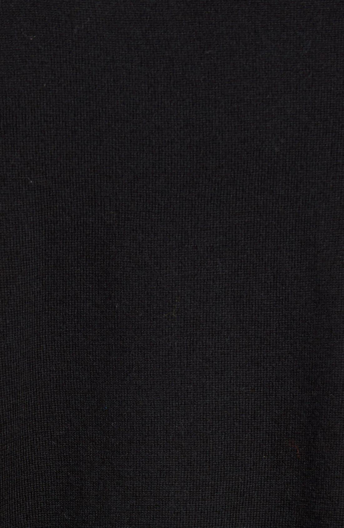 ZACHARY PRELL,                             V-Neck Colorblock Merino Wool Pullover,                             Alternate thumbnail 4, color,                             025