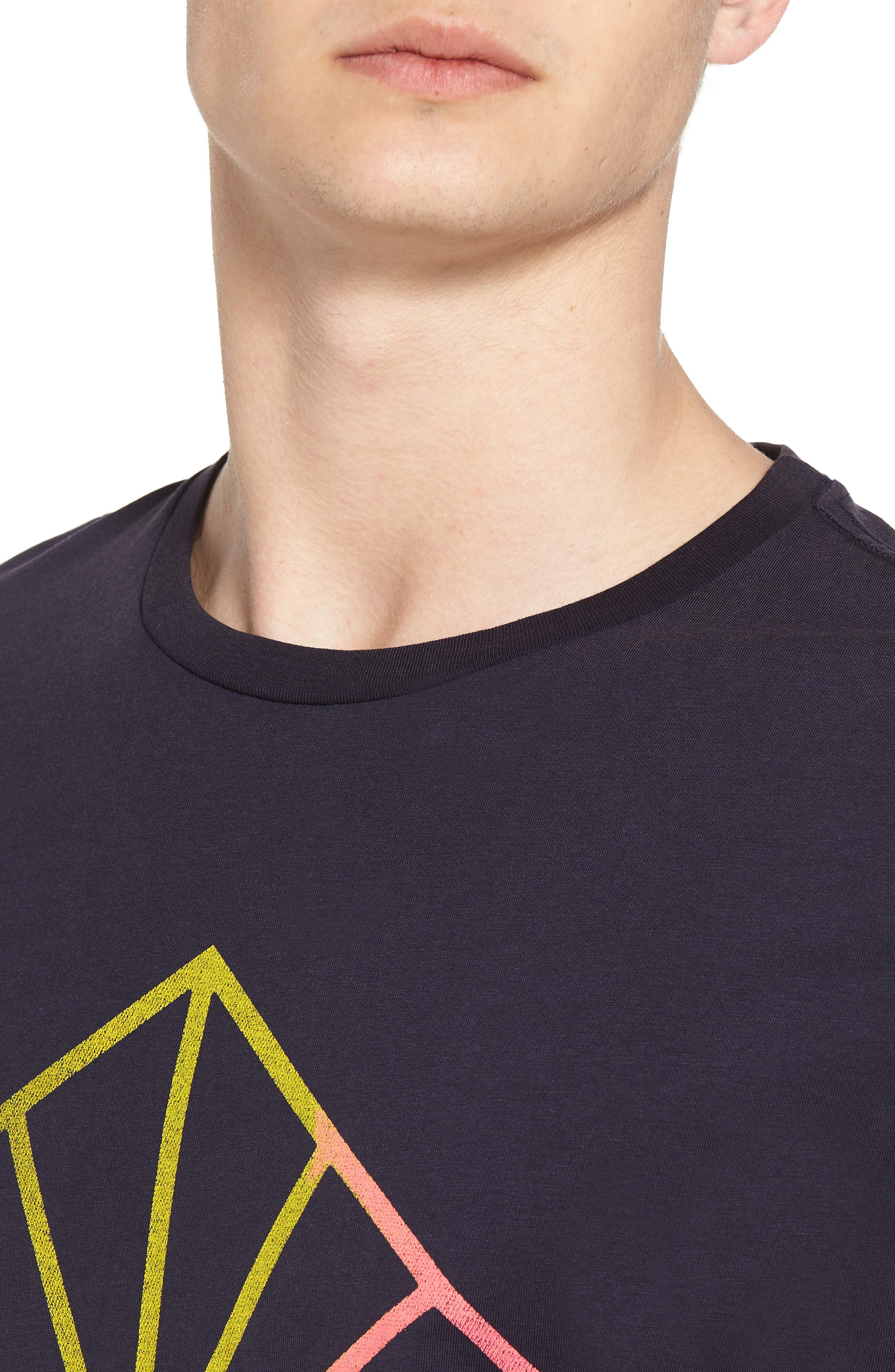 Surfer Graphic T-Shirt,                             Alternate thumbnail 4, color,                             NIGHT