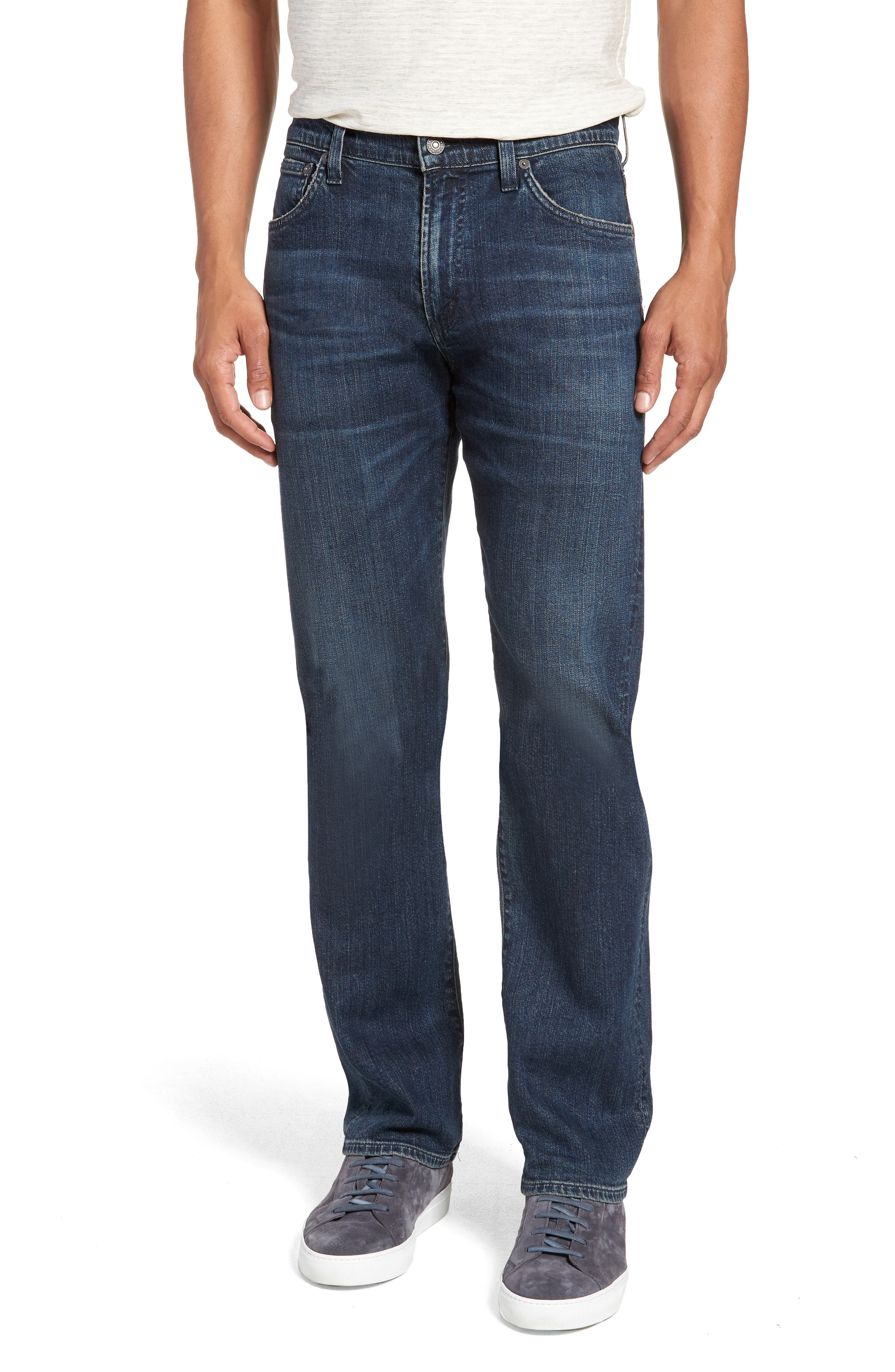Sid Straight Leg Jeans,                         Main,                         color, 407