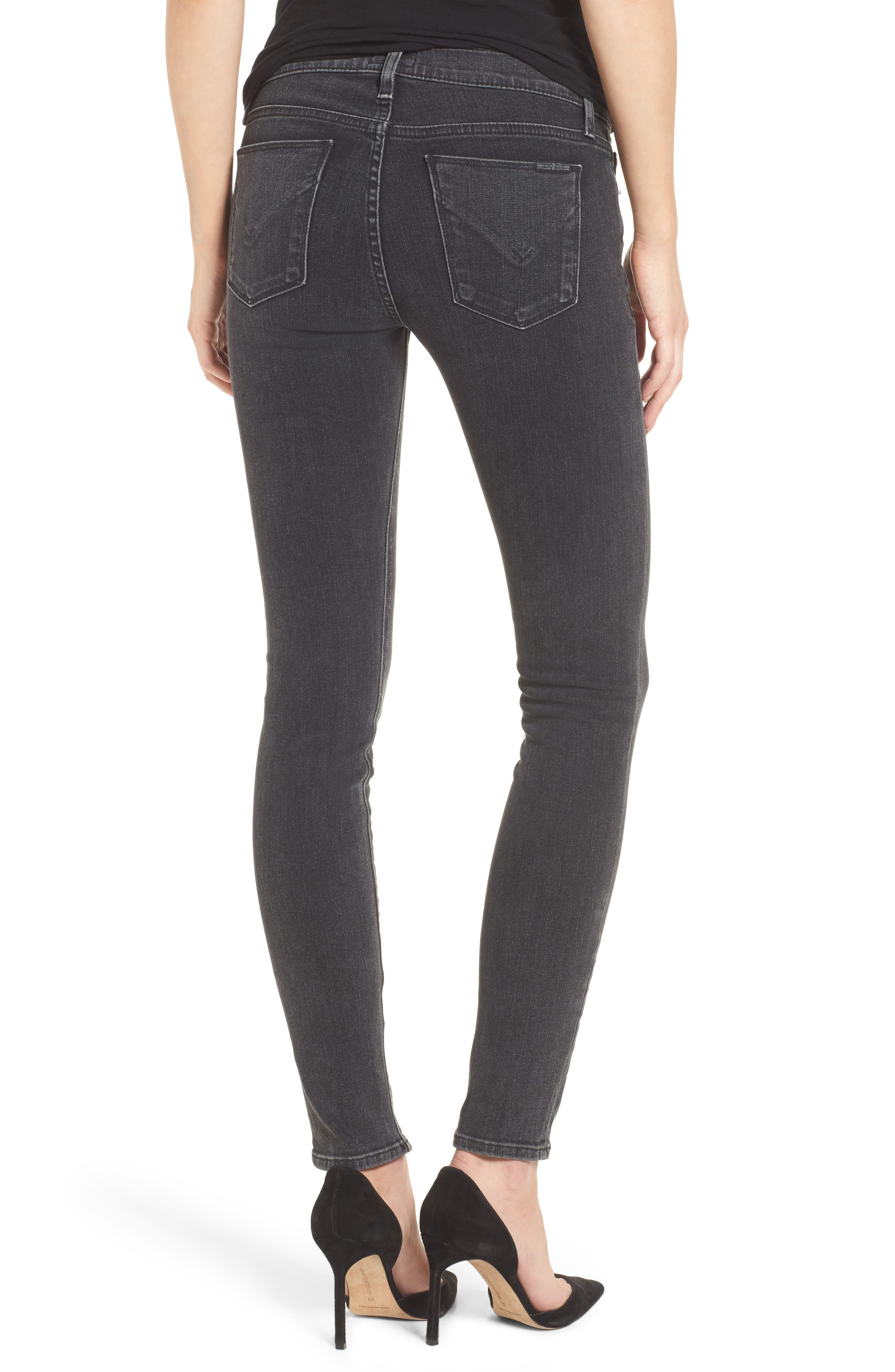 Krista Super Skinny Jeans,                             Alternate thumbnail 2, color,                             001