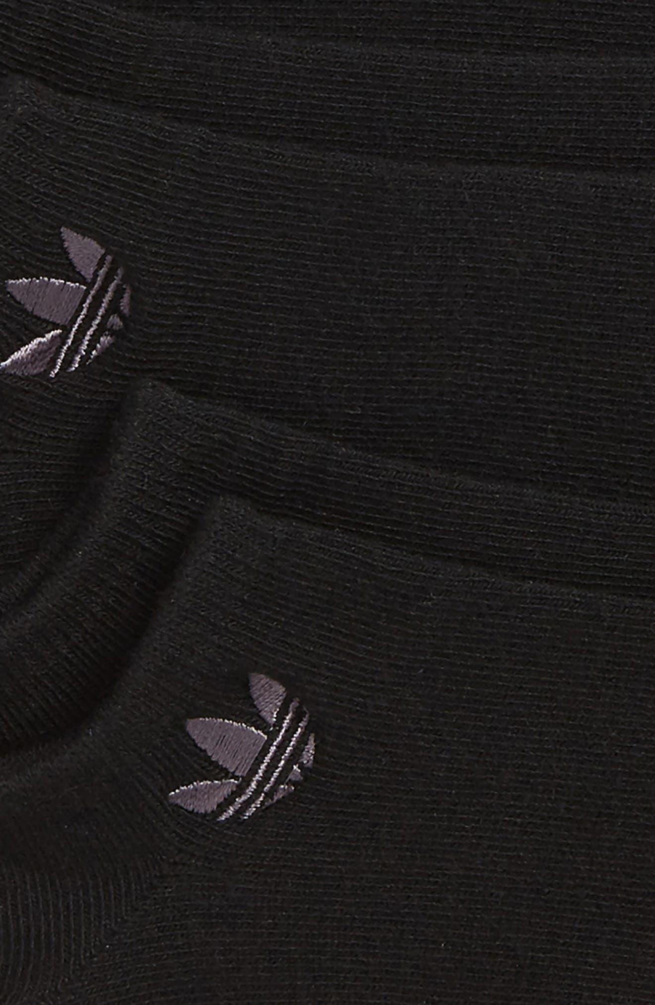3-Pack No-Show Socks,                             Alternate thumbnail 2, color,                             001