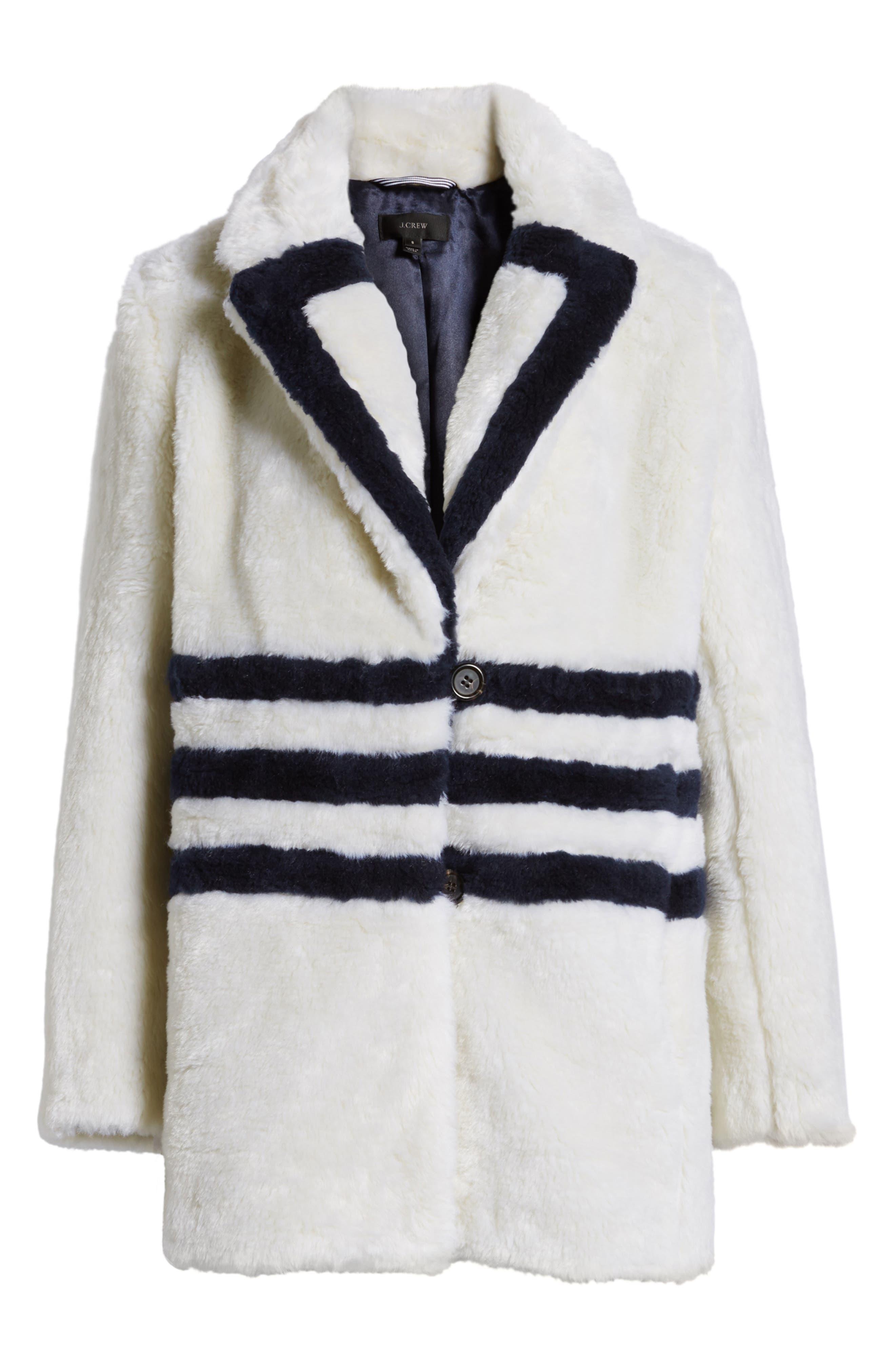 Yuna Teddy Faux Fur Jacket,                             Alternate thumbnail 10, color,