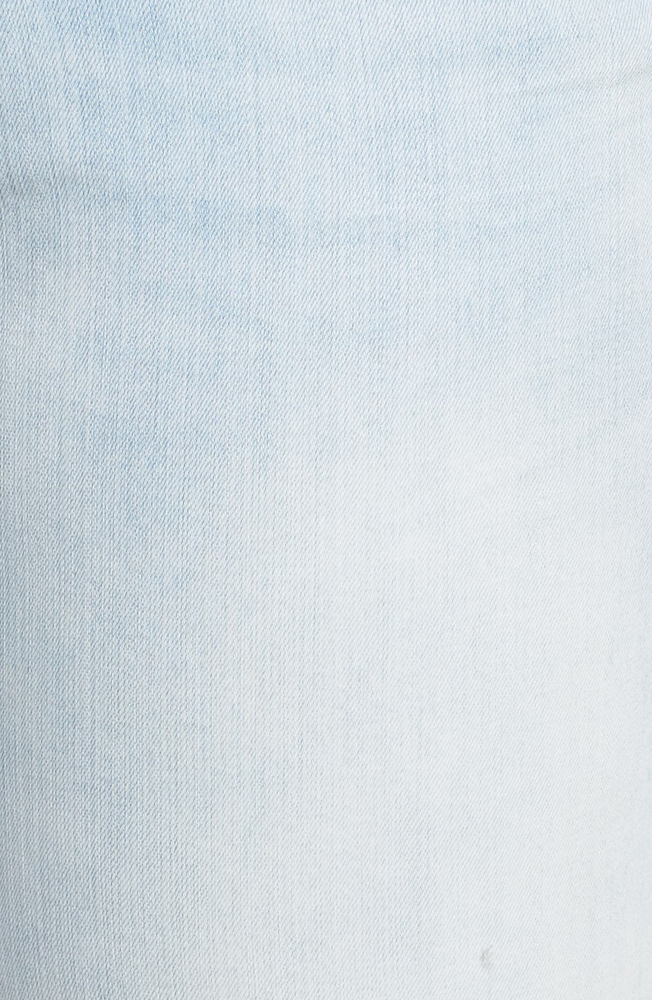 Distressed Boyfriend Jeans,                             Alternate thumbnail 5, color,                             450