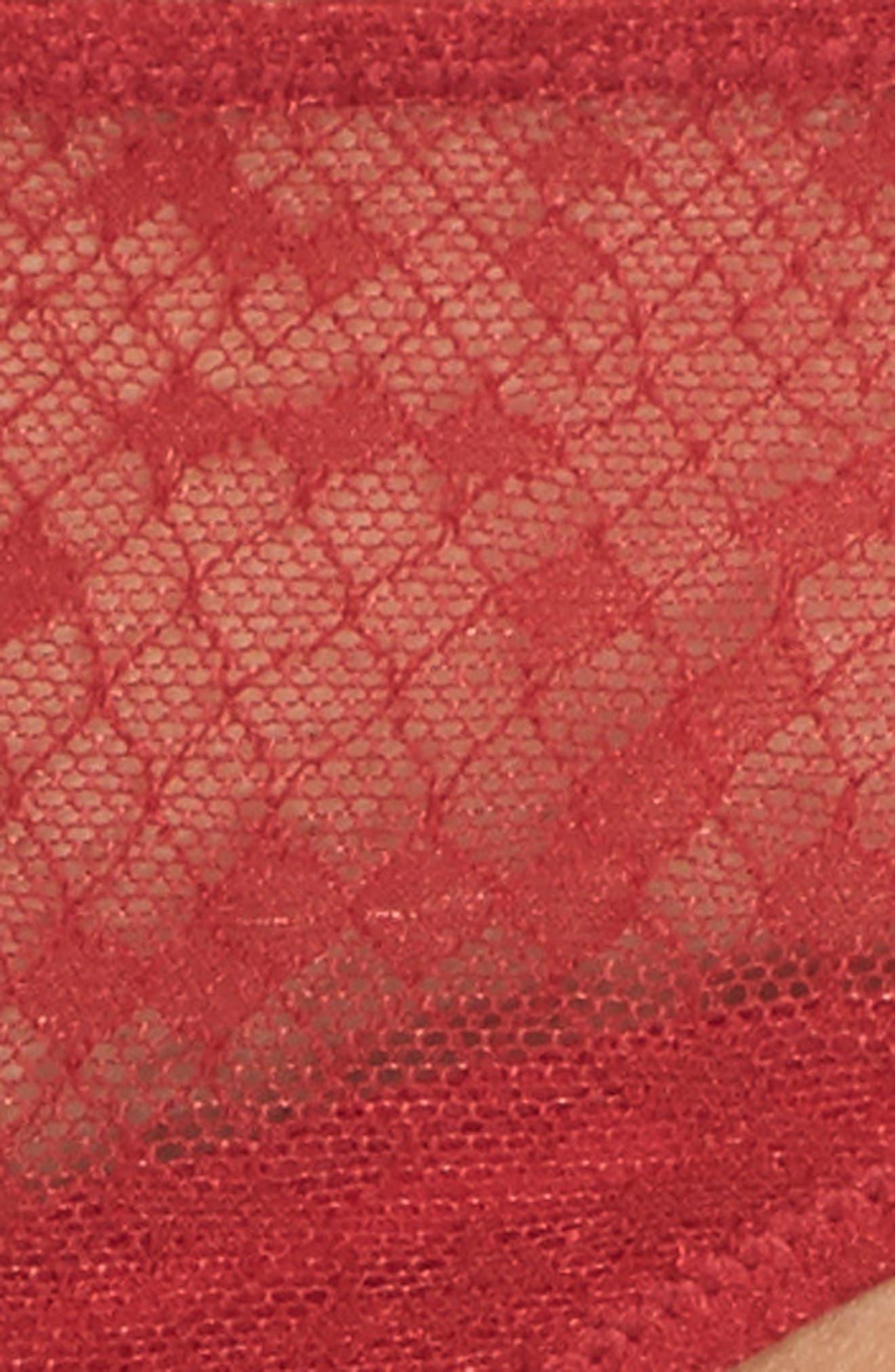Snake Lace Thong,                             Alternate thumbnail 14, color,