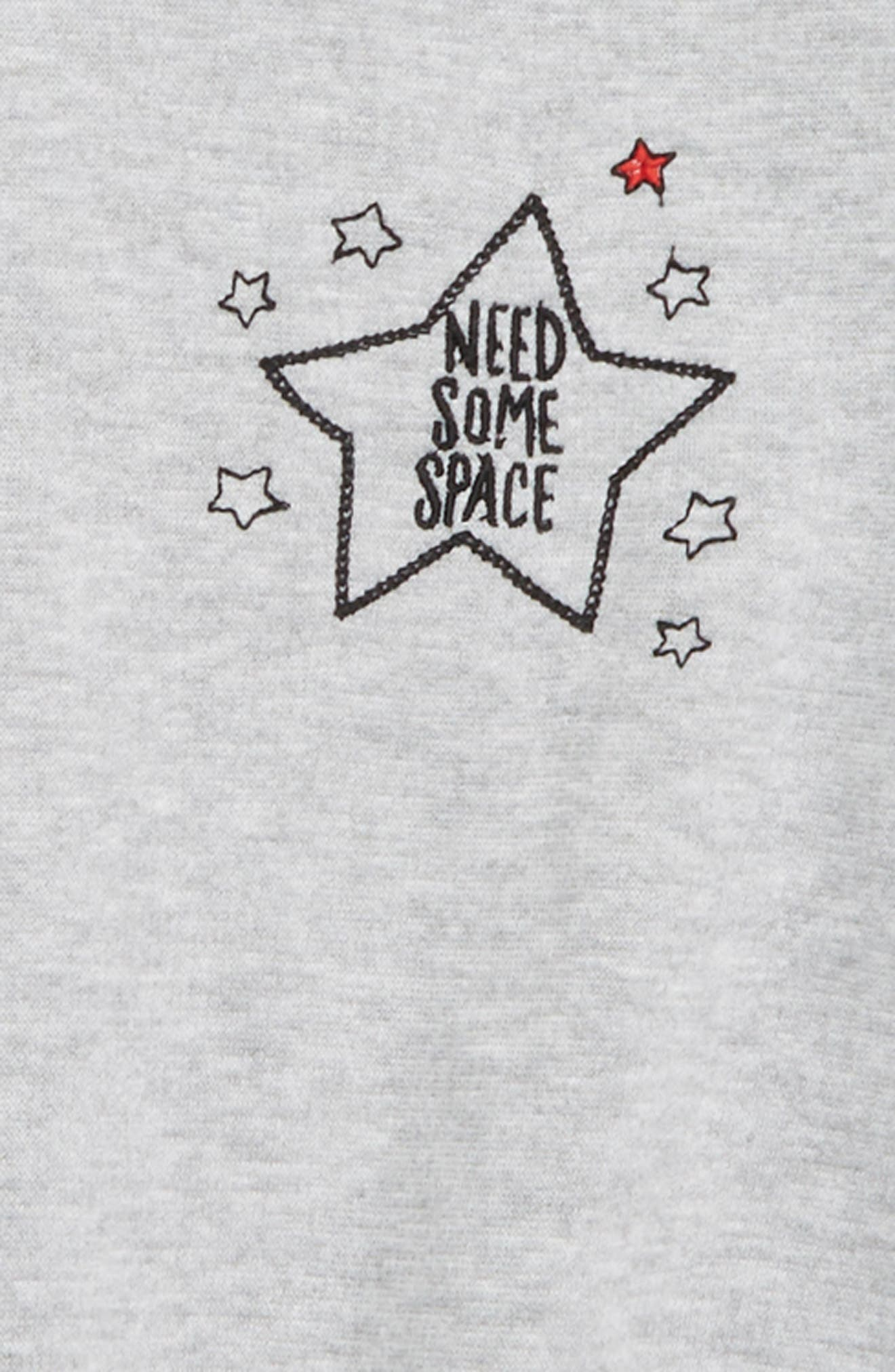 Need Some Space Embroidered Sweatshirt,                             Alternate thumbnail 2, color,                             050