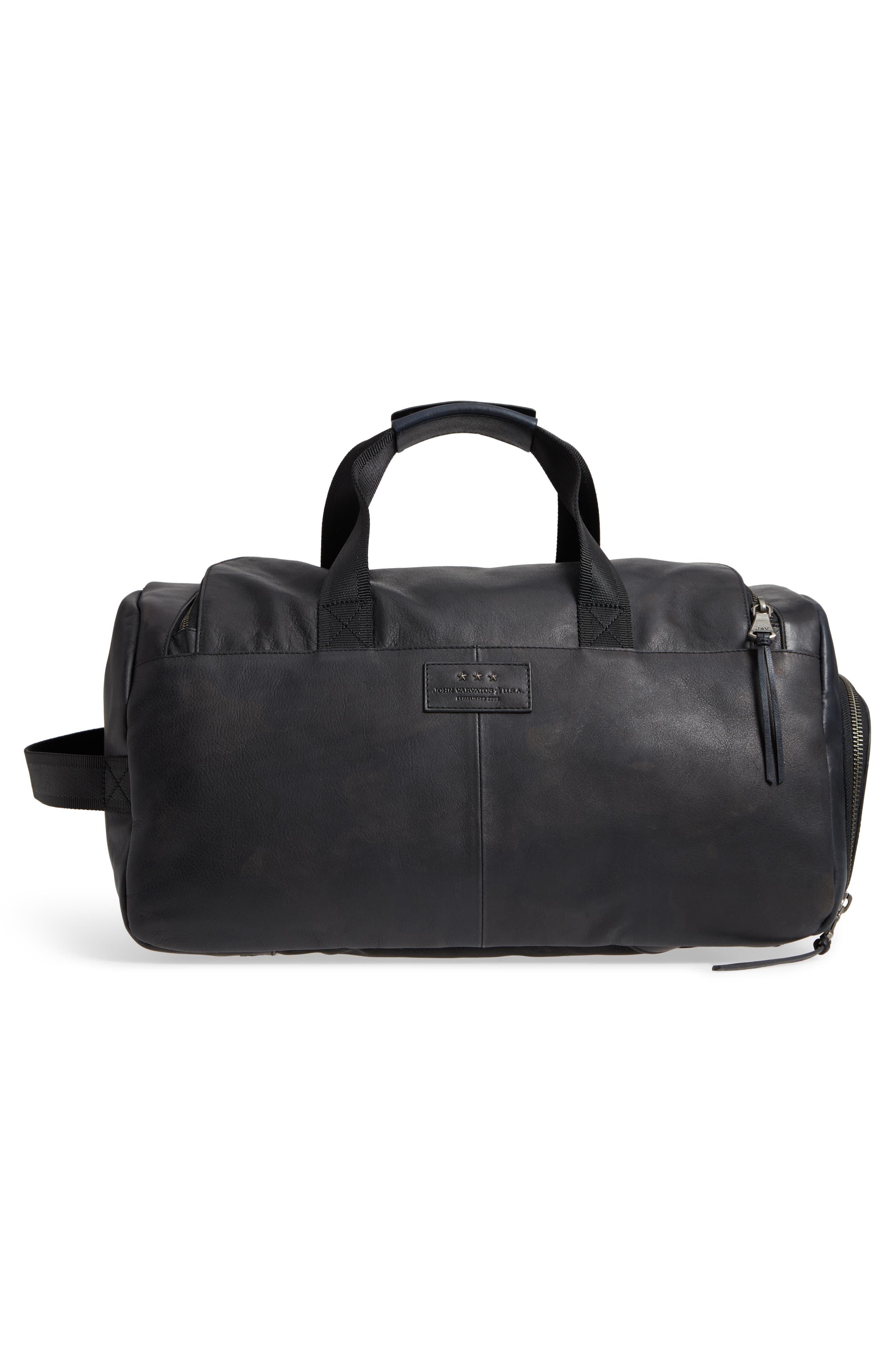 Brooklyn Suede Convertible Duffel Bag,                             Alternate thumbnail 8, color,