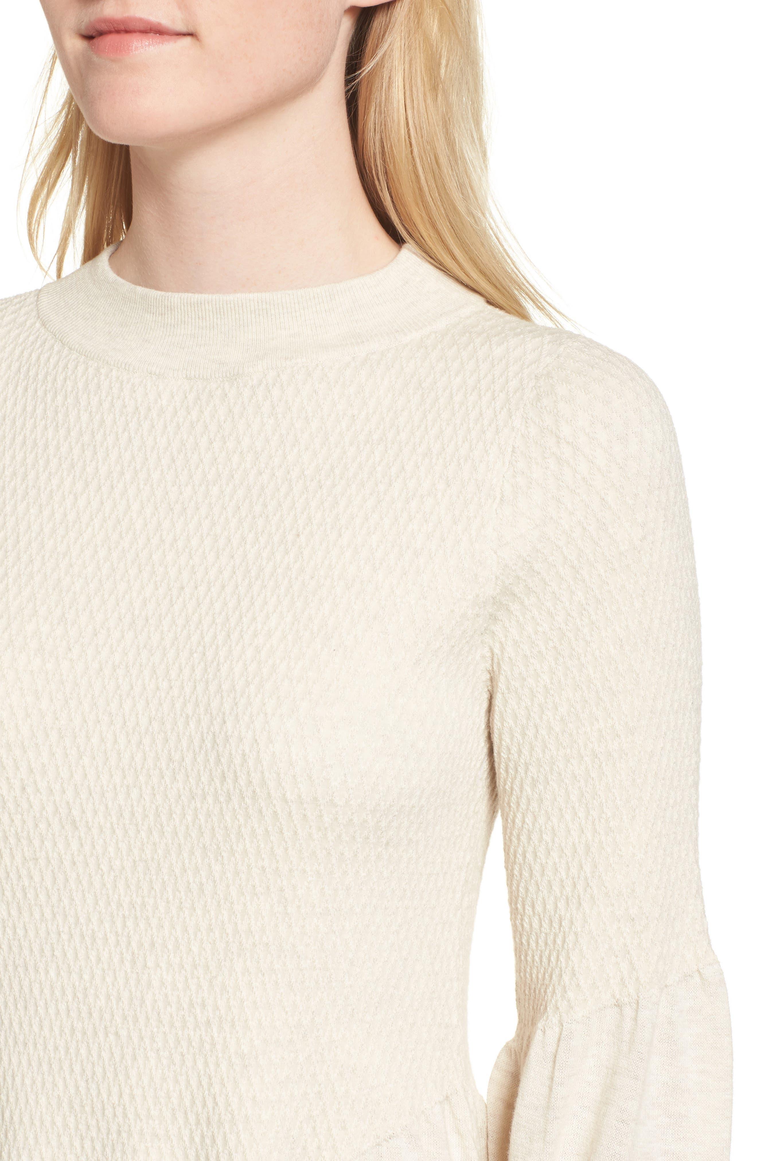 Swingy Hem Sweater,                             Alternate thumbnail 4, color,                             250
