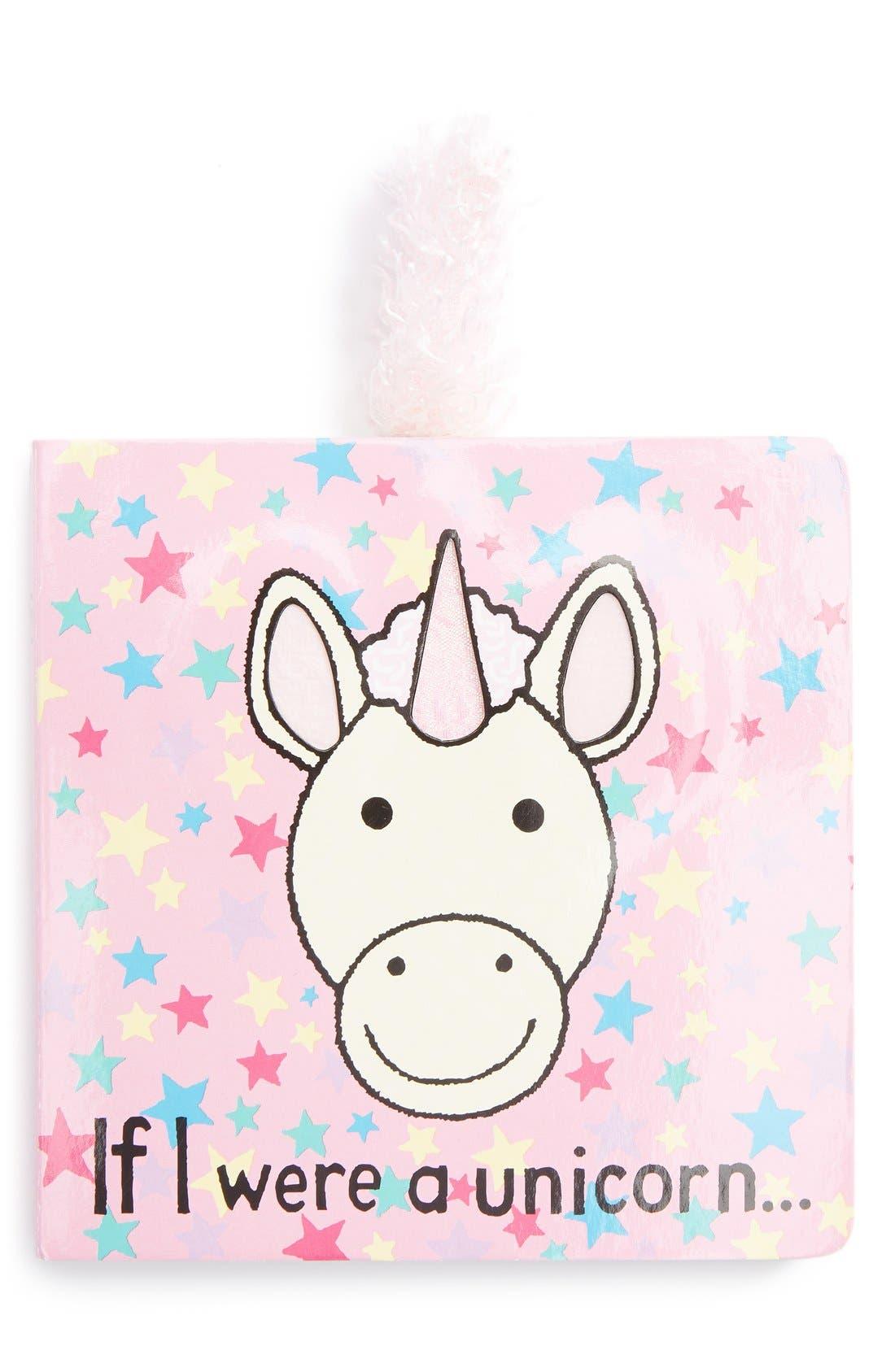 JELLYCAT 'If I Were a Unicorn' Board Book, Main, color, 000