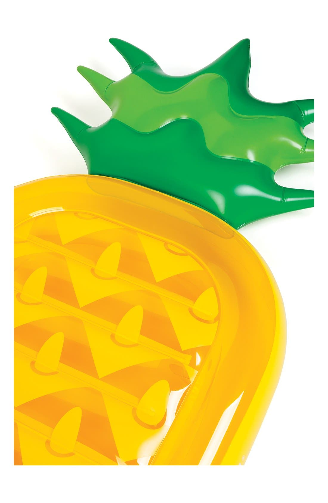 Inflatable Pineapple Pool Float,                             Alternate thumbnail 2, color,
