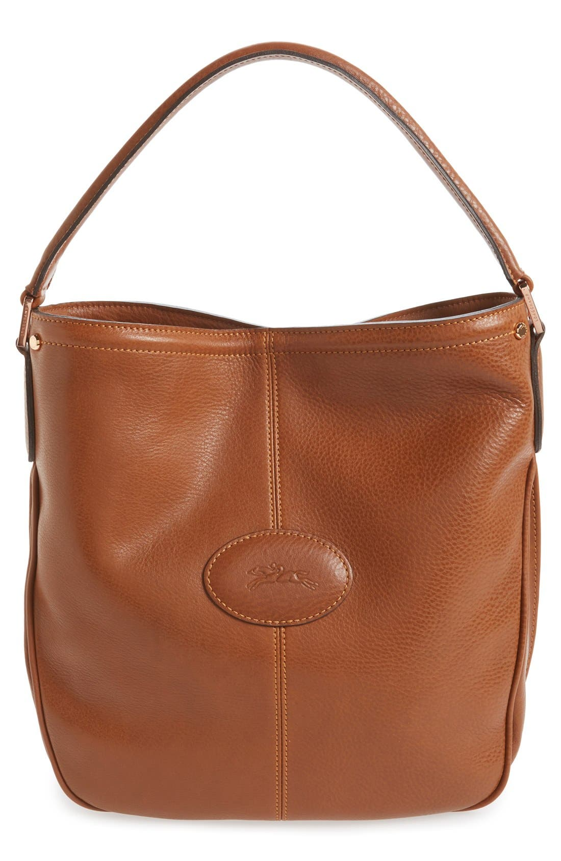 'Mystery' Leather Hobo,                             Main thumbnail 3, color,