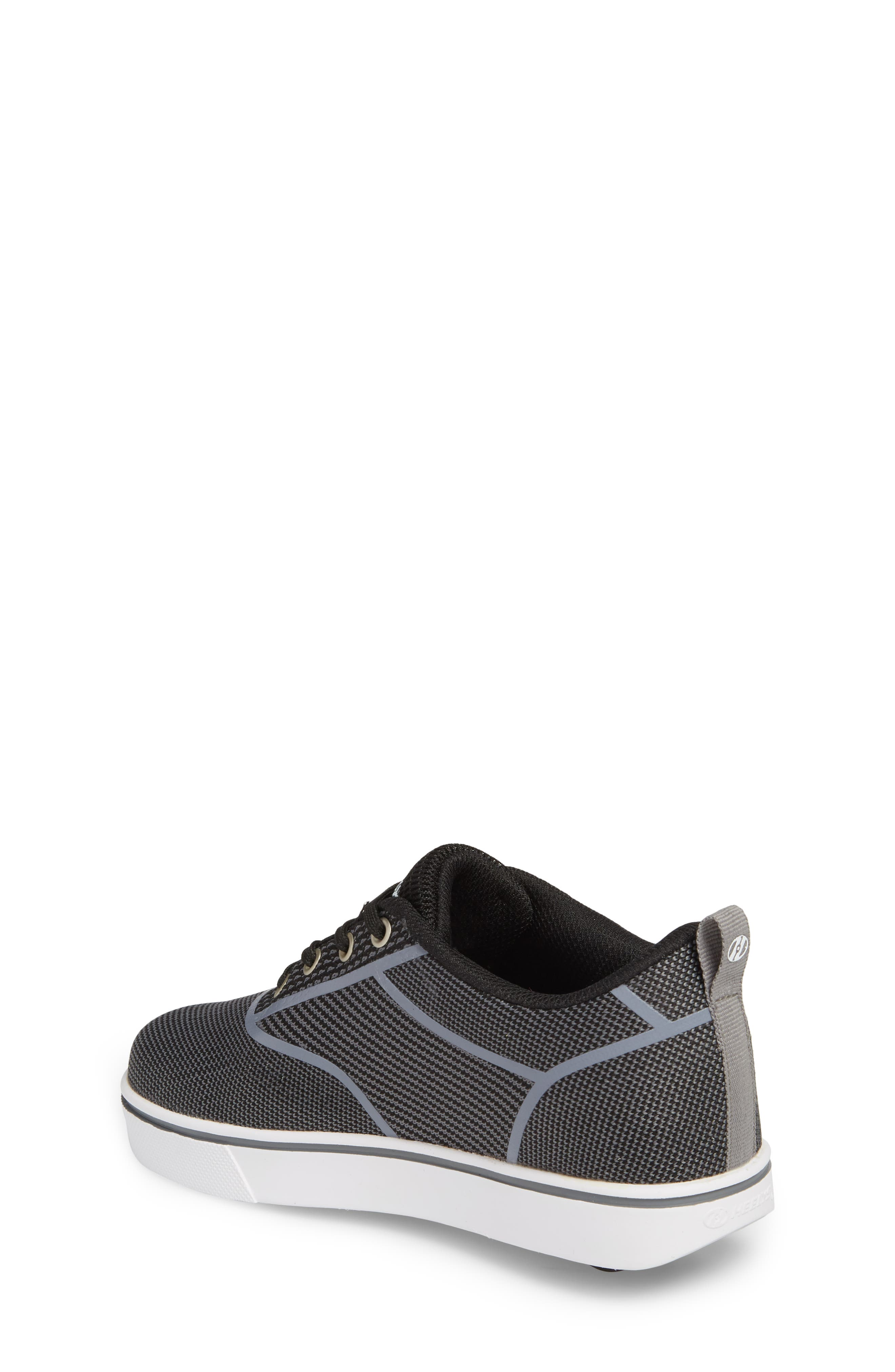 Launch Knit Sneaker,                             Alternate thumbnail 2, color,                             BLACK/ CHARCOAL