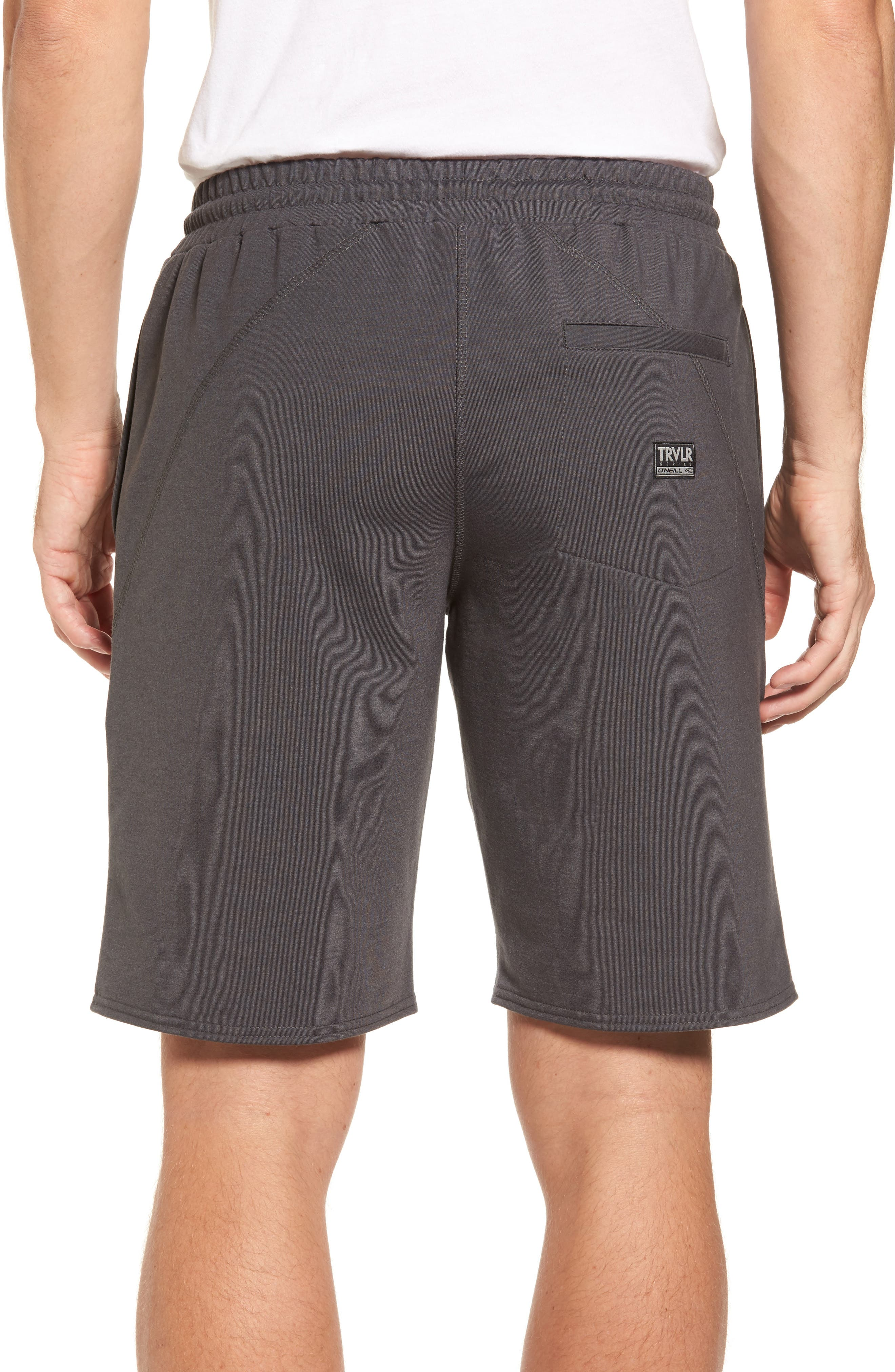 Traveler Fleece Shorts,                             Alternate thumbnail 2, color,                             020