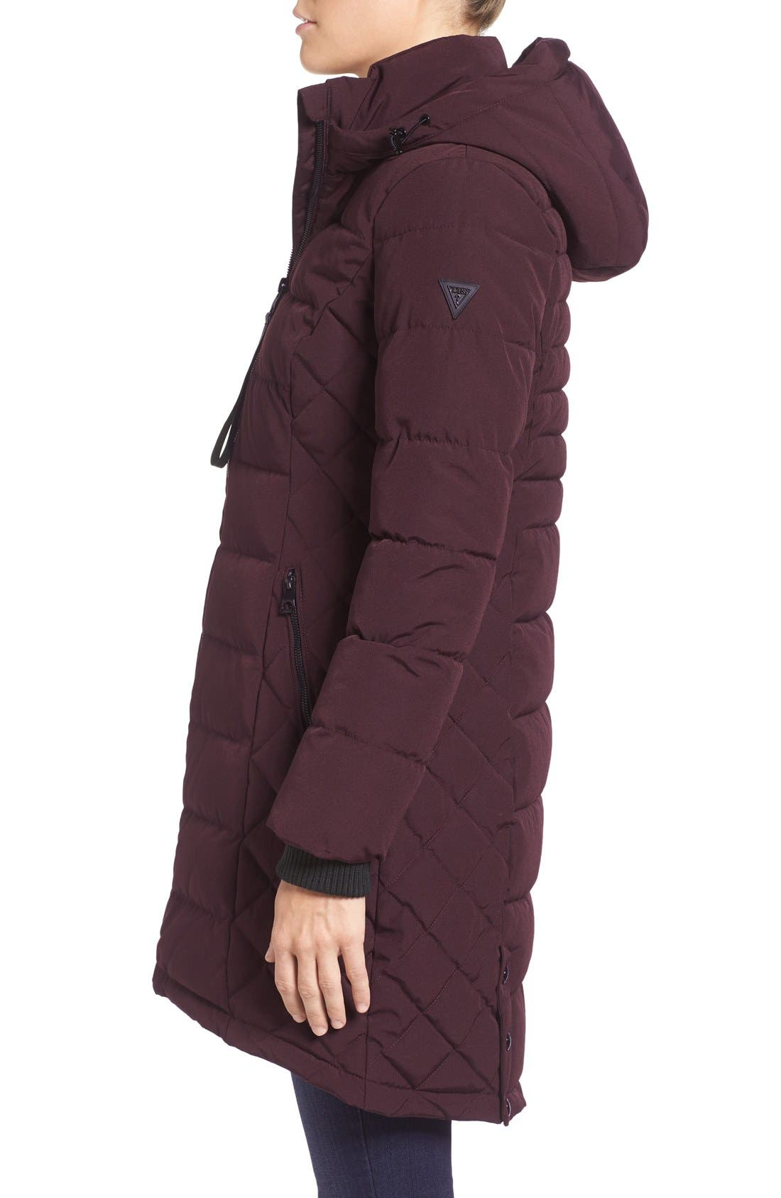 Quilted Hooded Puffer Coat,                             Alternate thumbnail 9, color,