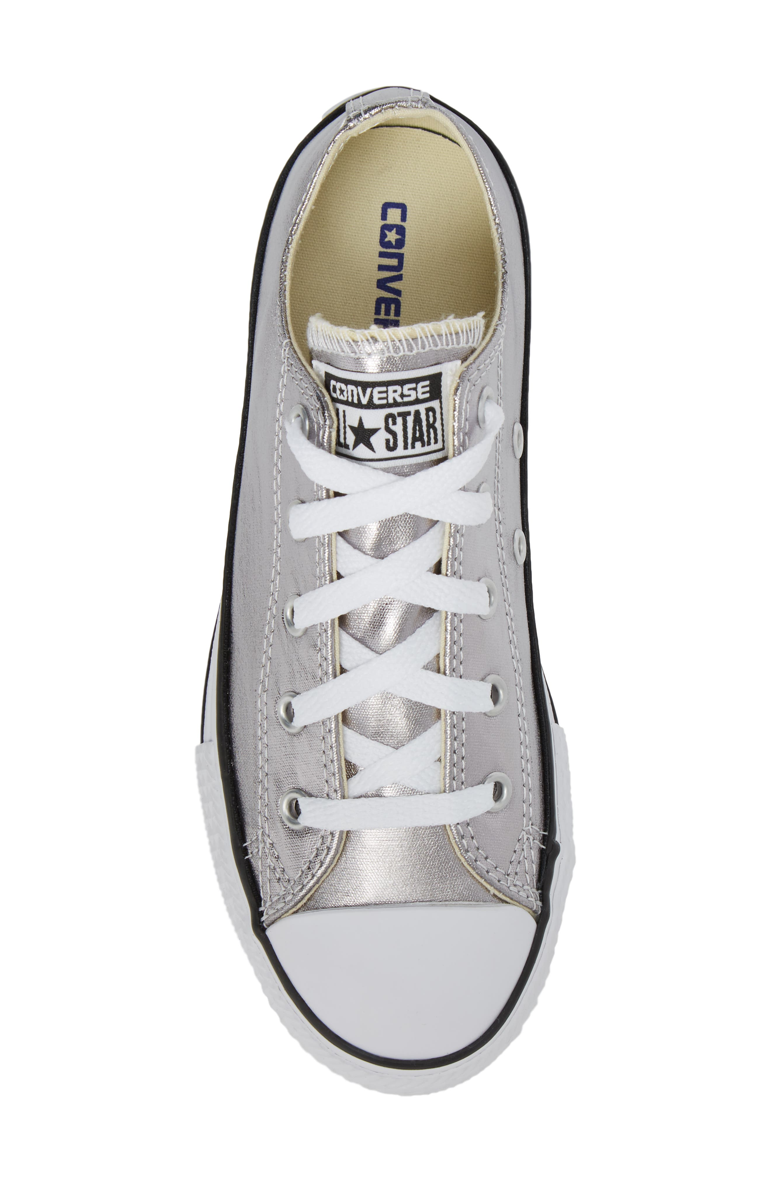 Chuck Taylor<sup>®</sup> All Star<sup>®</sup> Metallic Sneaker,                             Alternate thumbnail 5, color,                             040