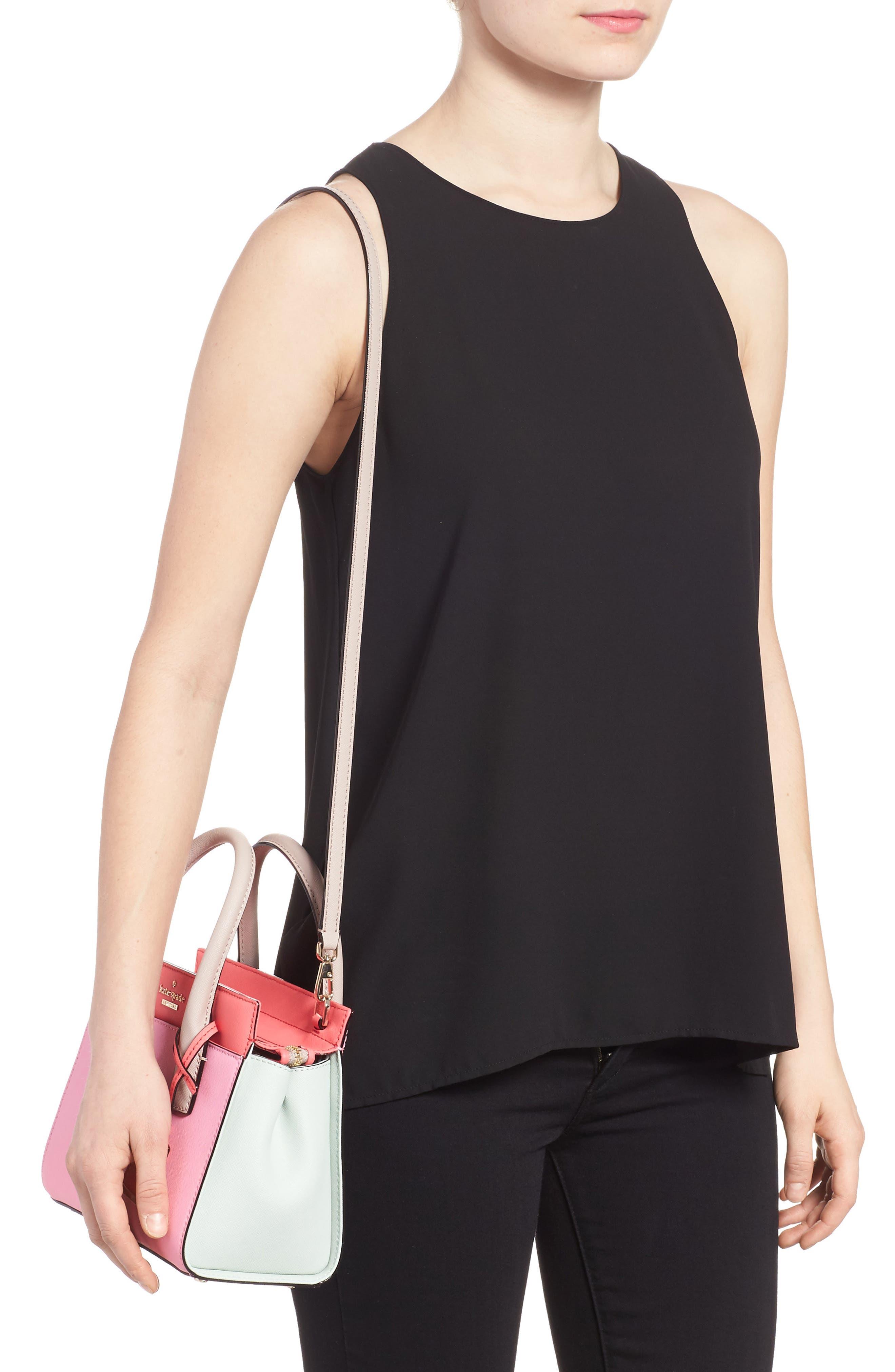 'cameron street - mini candace' leather satchel,                             Alternate thumbnail 2, color,                             690