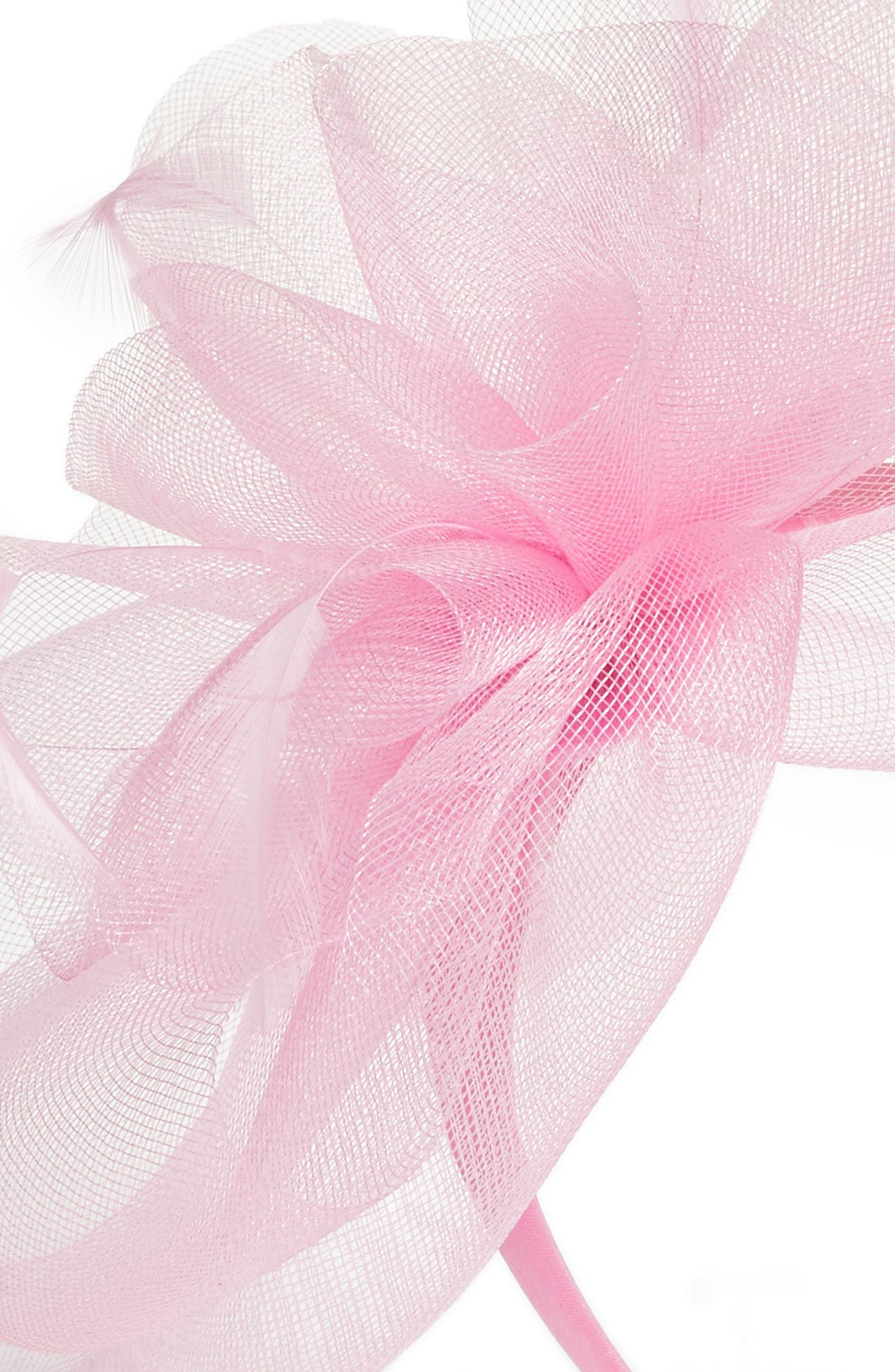 NORDSTROM,                             Feather Bouquet Fascinator Headband,                             Alternate thumbnail 2, color,                             660