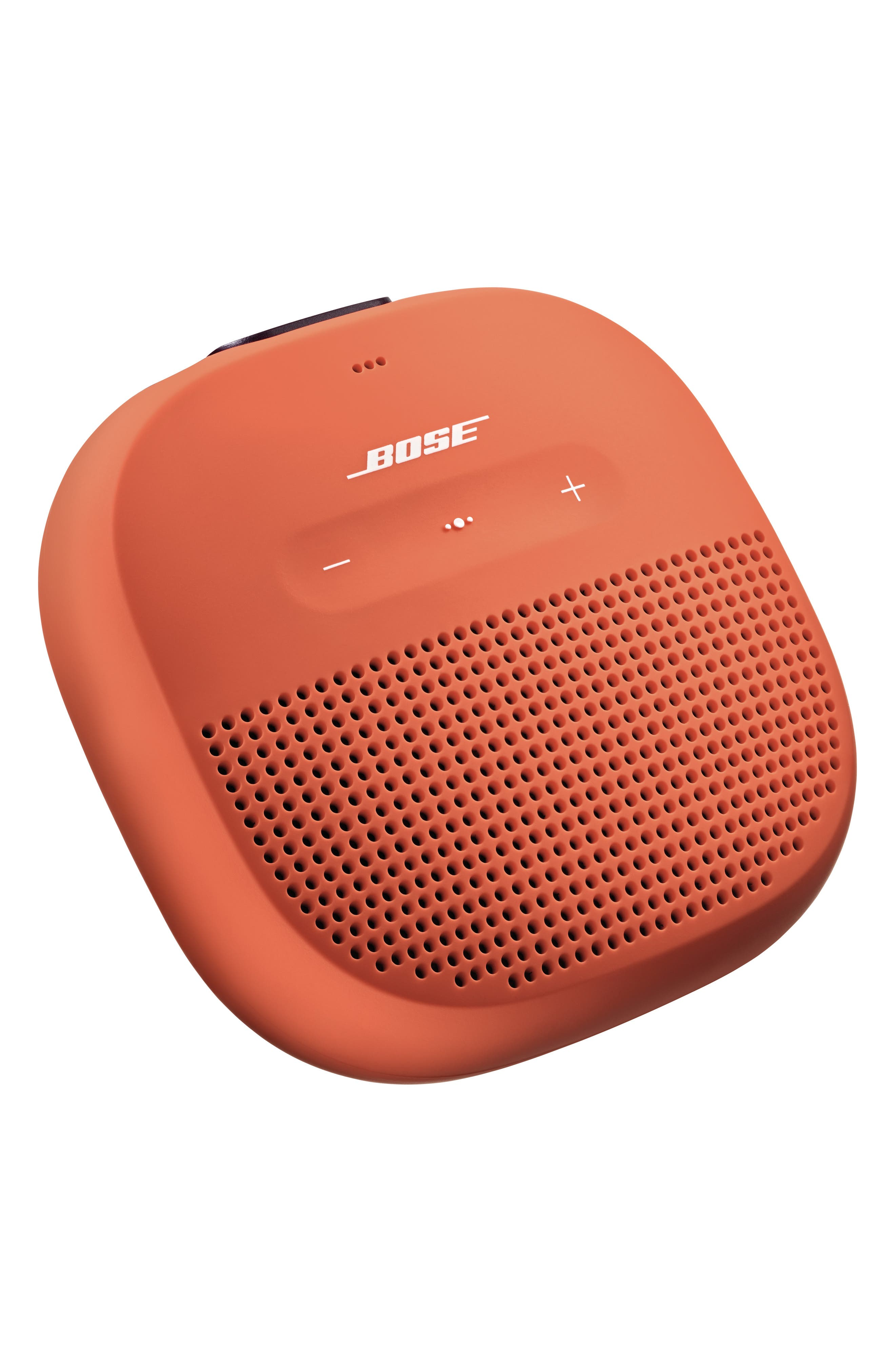 BOSE<SUP>®</SUP>,                             SoundLink<sup>®</sup> Micro Bluetooth<sup>®</sup> Speaker,                             Alternate thumbnail 4, color,                             ORANGE