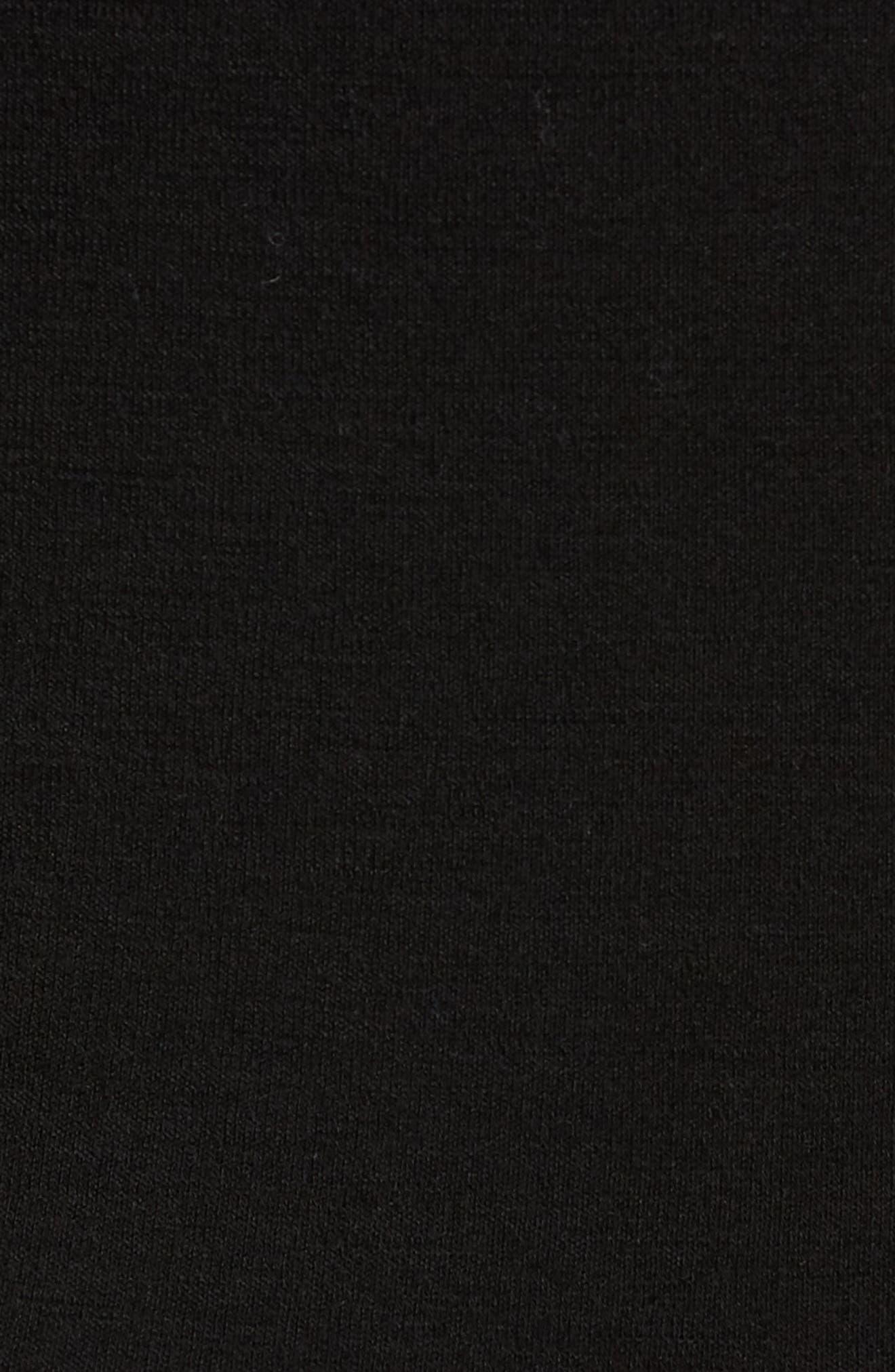 Merino 250 Base Layer Hooded Pullover,                             Alternate thumbnail 5, color,                             001