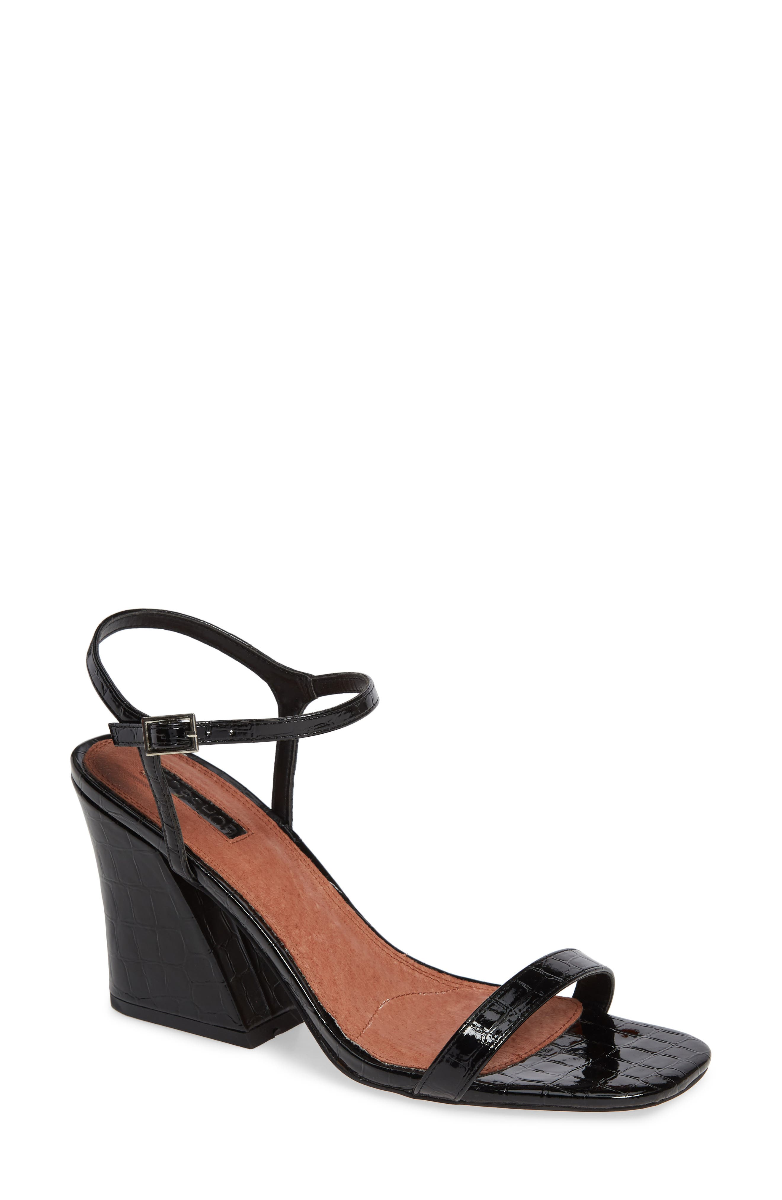 Remy Block Heel Sandal by Topshop
