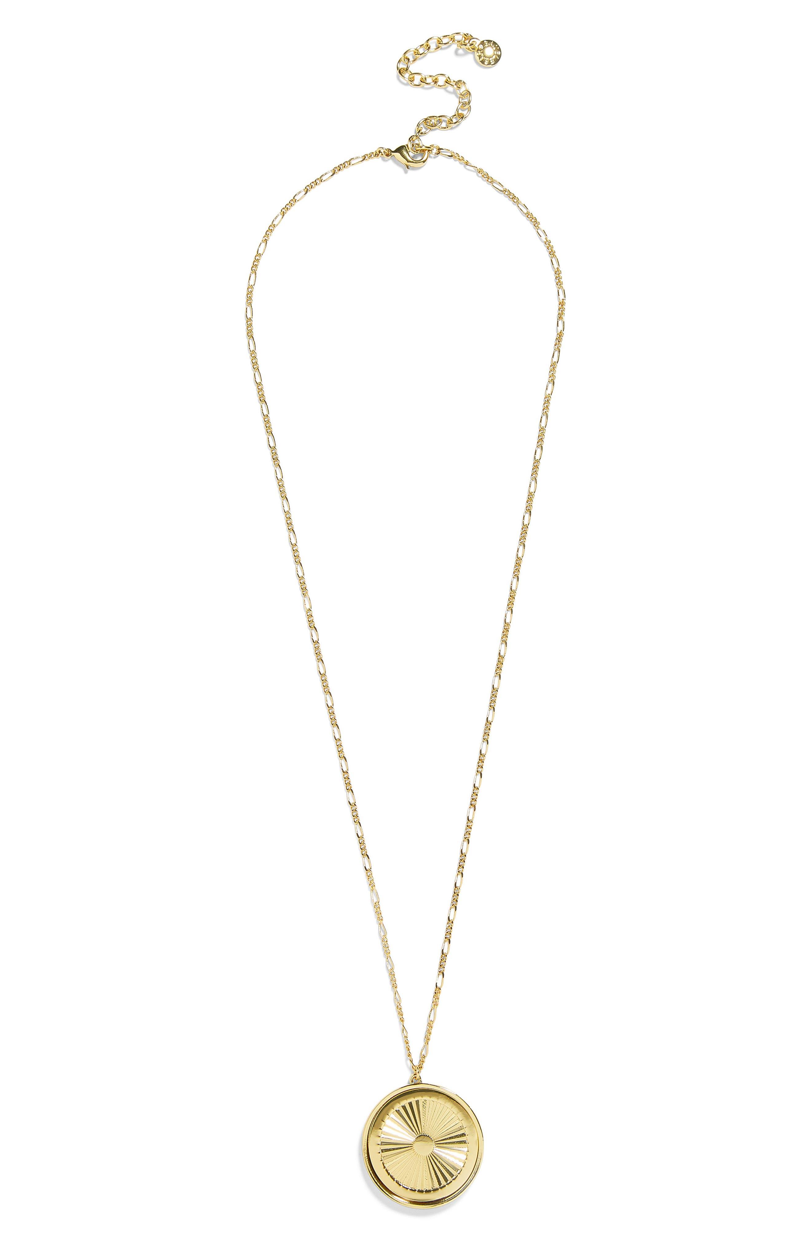Journey Pendant Necklace,                         Main,                         color, GOLD