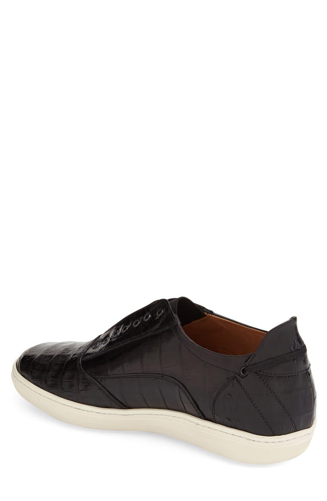 'Emmanuel' Slip-on Sneaker,                             Alternate thumbnail 4, color,