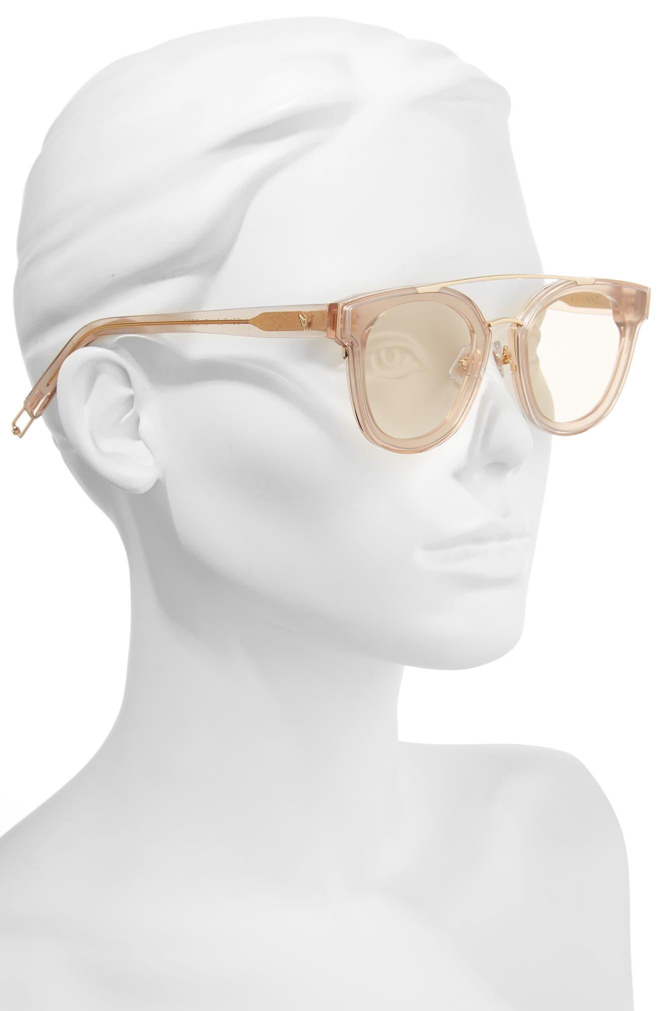 Tilda Swinton x Gentle Monster Newtonic 60mm Rounded Sunglasses,                             Alternate thumbnail 5, color,