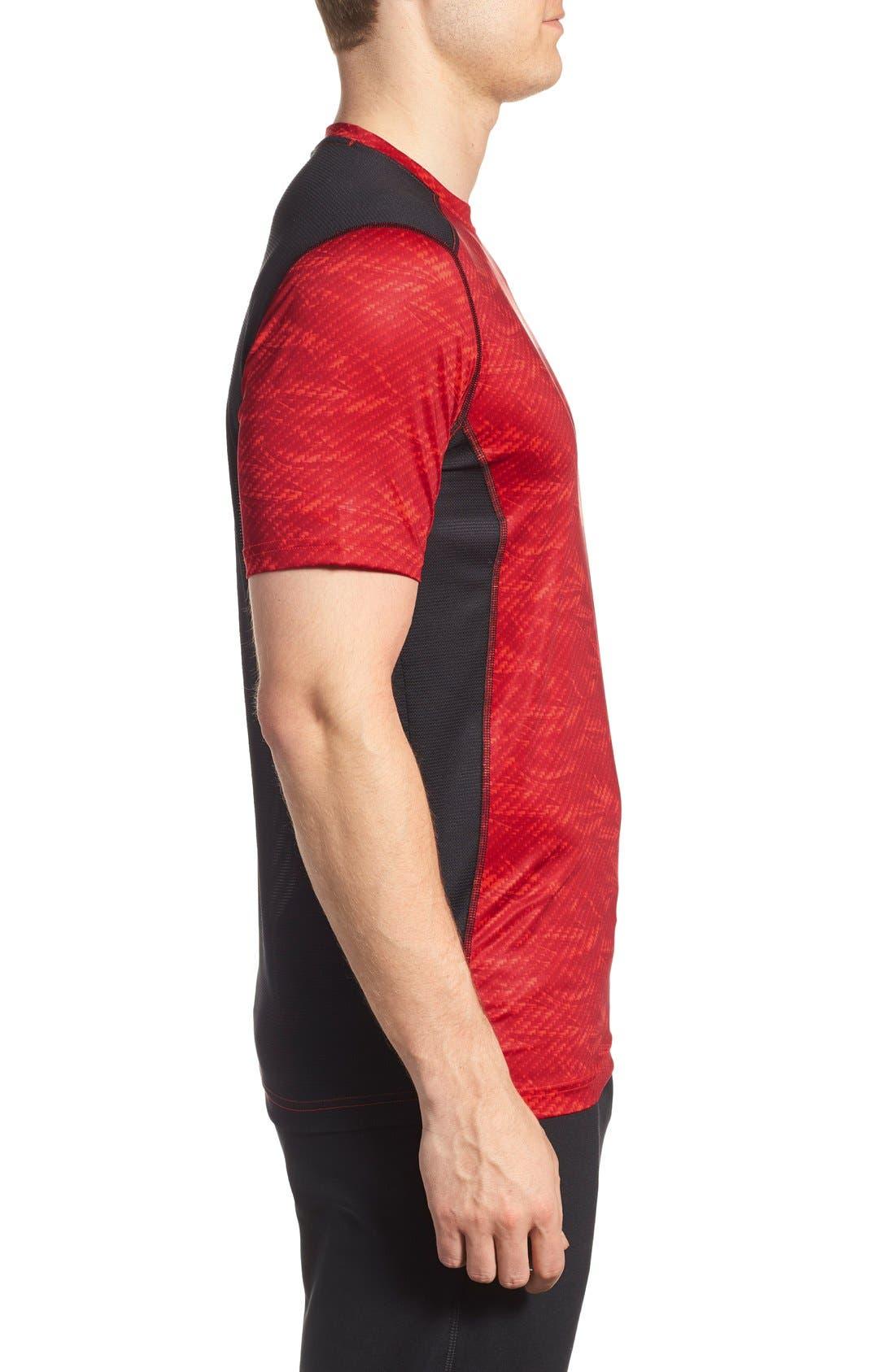 'Raid' HeatGear<sup>®</sup> Training T-Shirt,                             Alternate thumbnail 75, color,