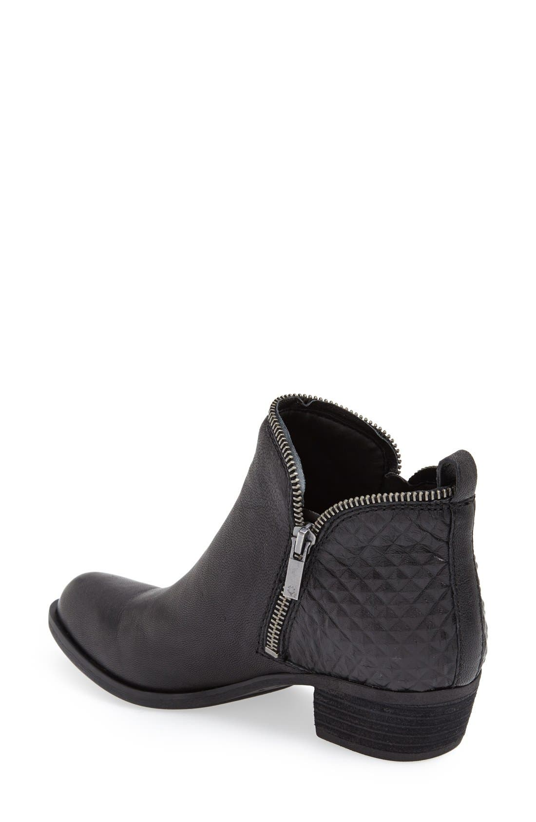 LUCKY BRAND,                             'Bartalino' Bootie,                             Alternate thumbnail 2, color,                             001
