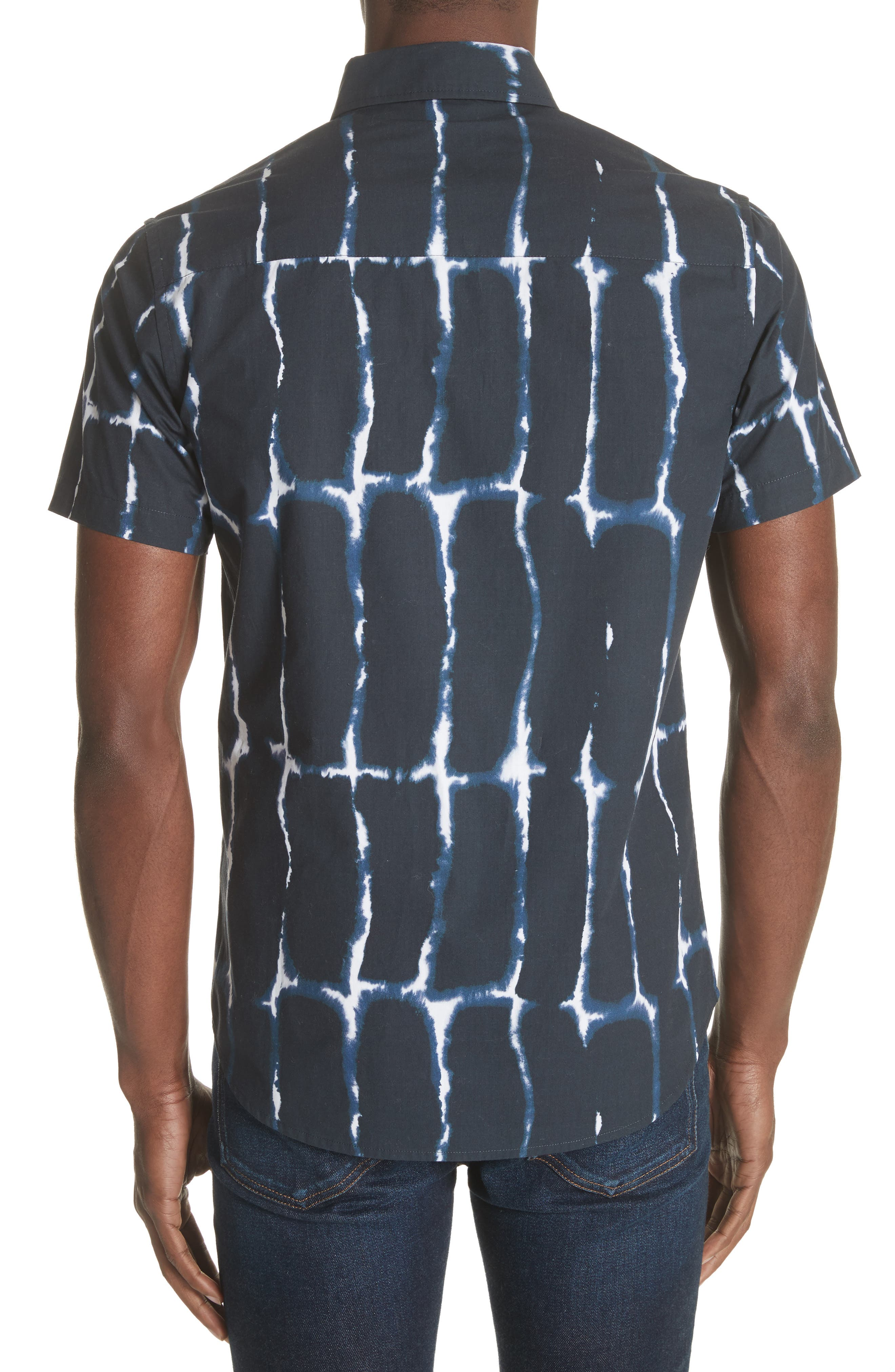 Esquina Print Woven Shirt,                             Alternate thumbnail 2, color,                             401