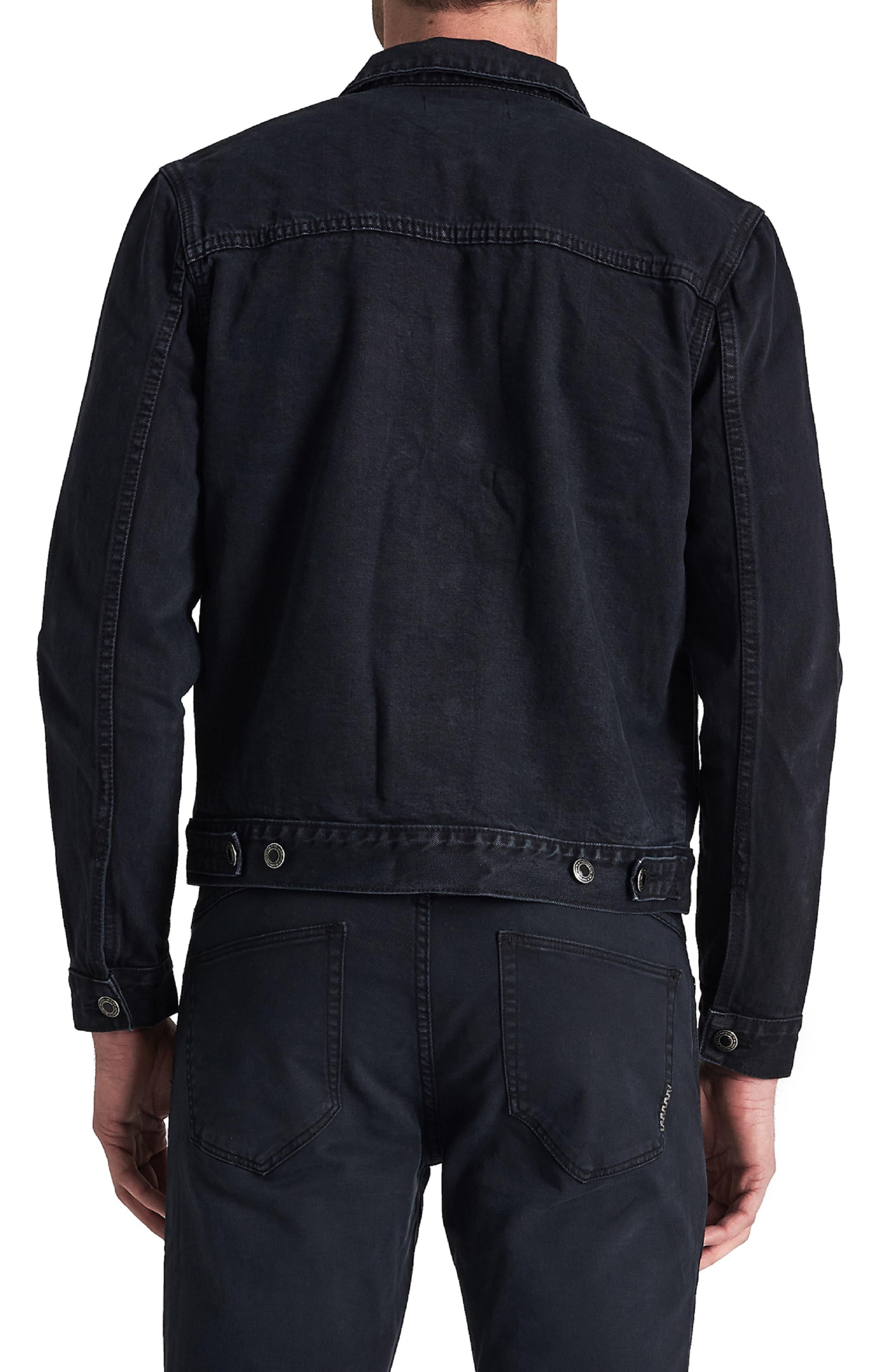 Type One Denim Jacket,                             Alternate thumbnail 2, color,                             DARK SKY