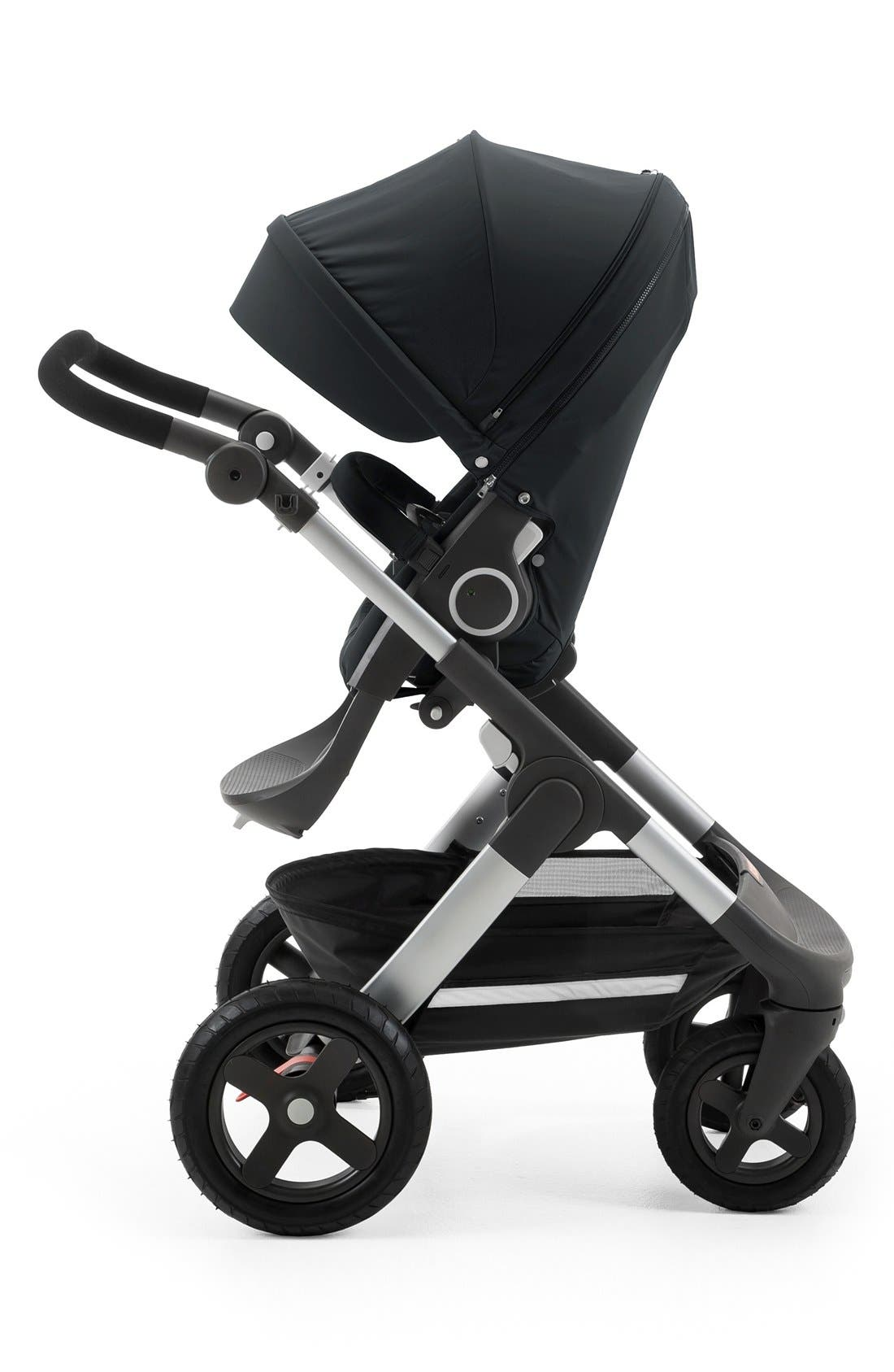 Trailz<sup>™</sup> All Terrain Stroller,                             Alternate thumbnail 2, color,                             BLACK MELANGE