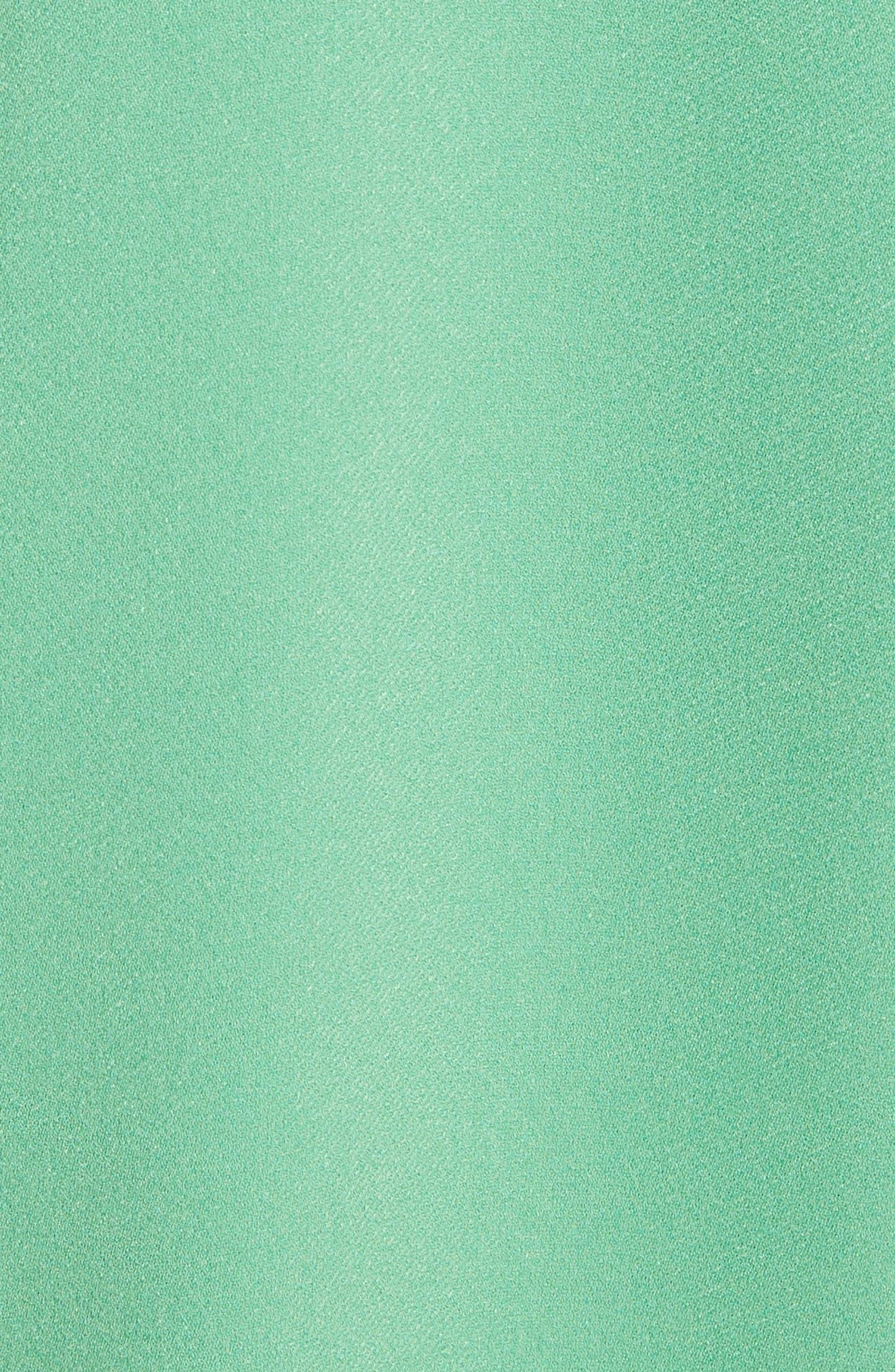 Cutout Shoulder Crepe Top,                             Alternate thumbnail 14, color,
