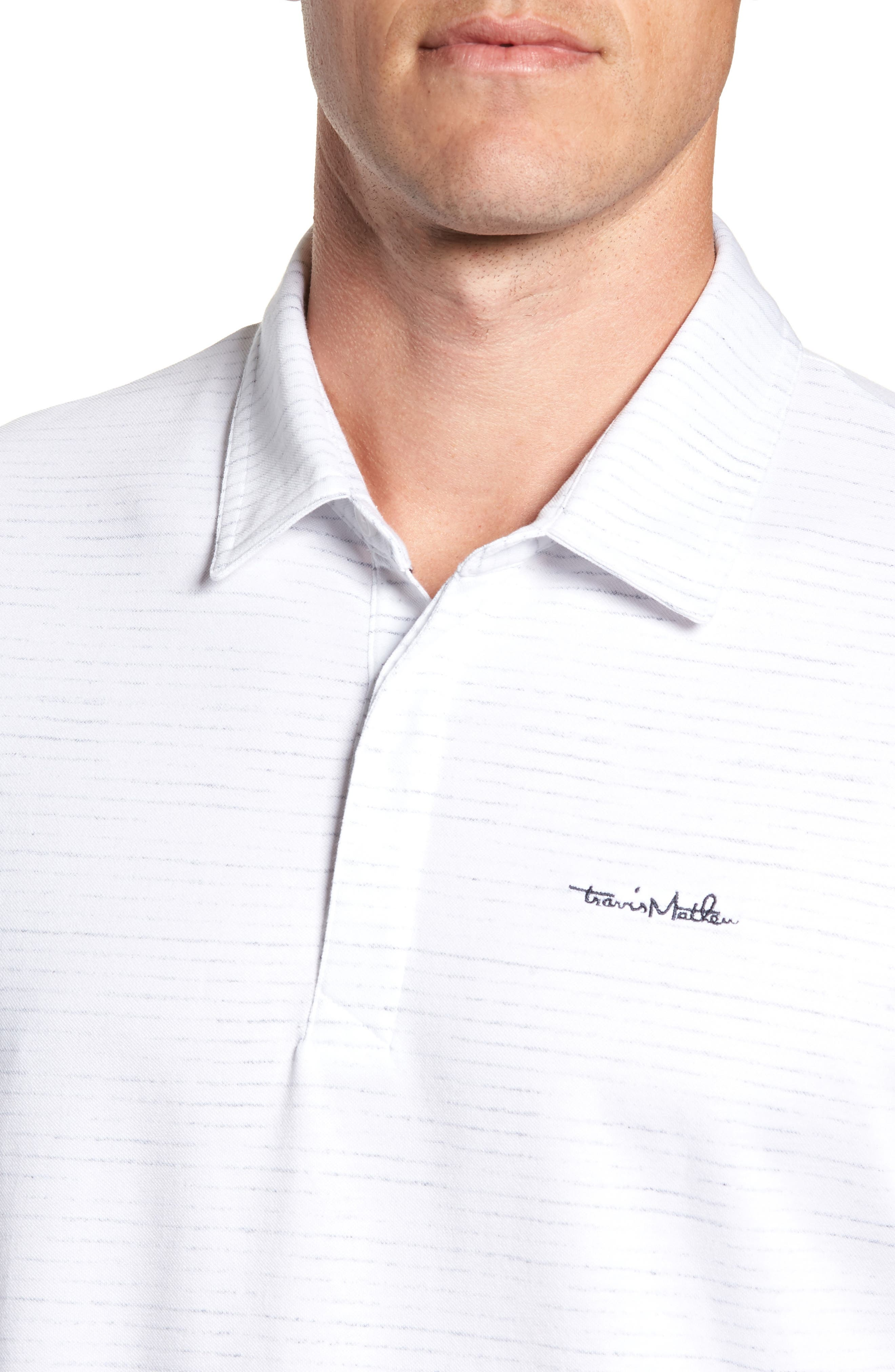 Getting Loose Regular Fit Polo,                             Alternate thumbnail 4, color,                             100