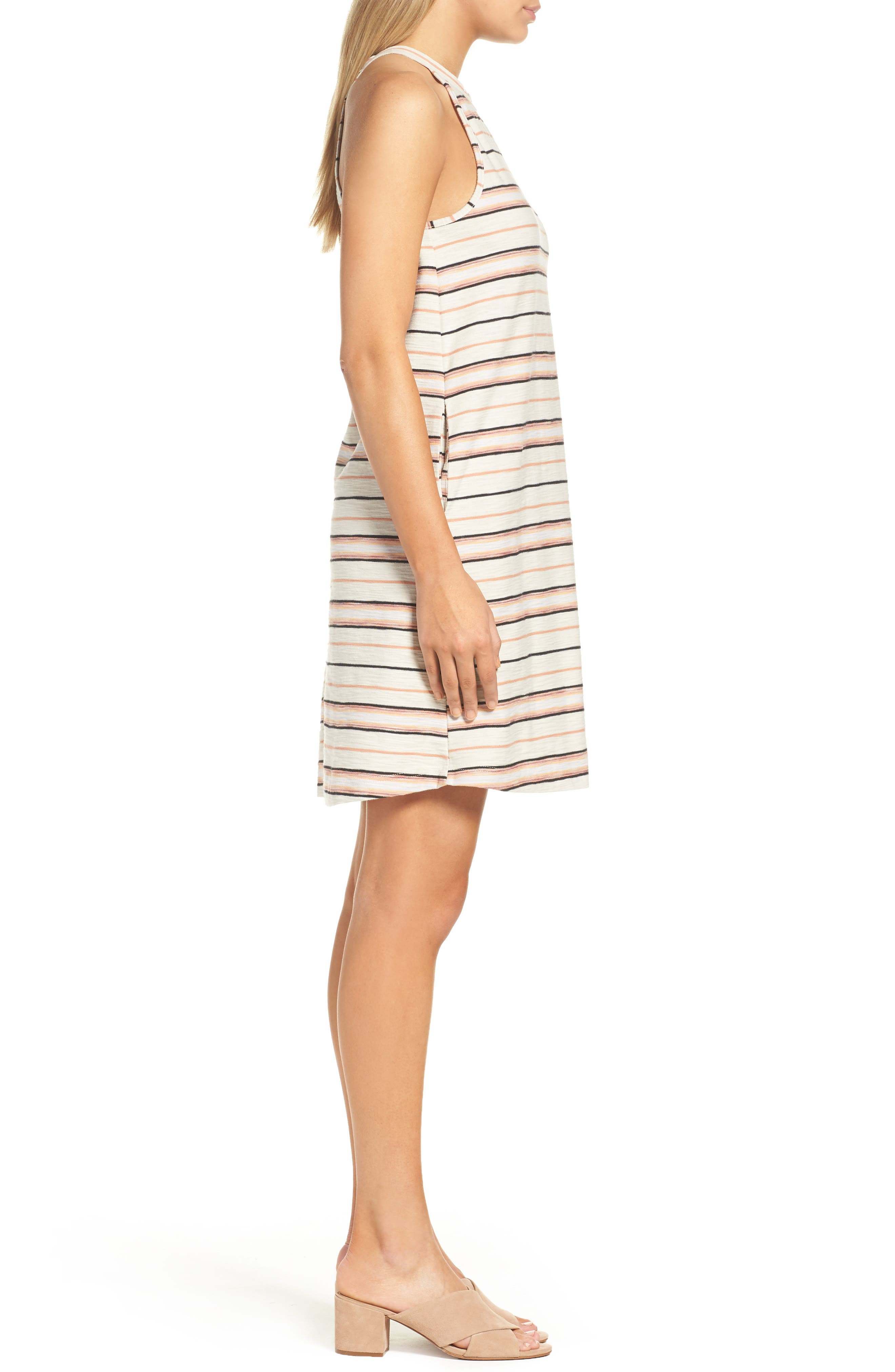 Field Day Stripe Dress,                             Alternate thumbnail 3, color,