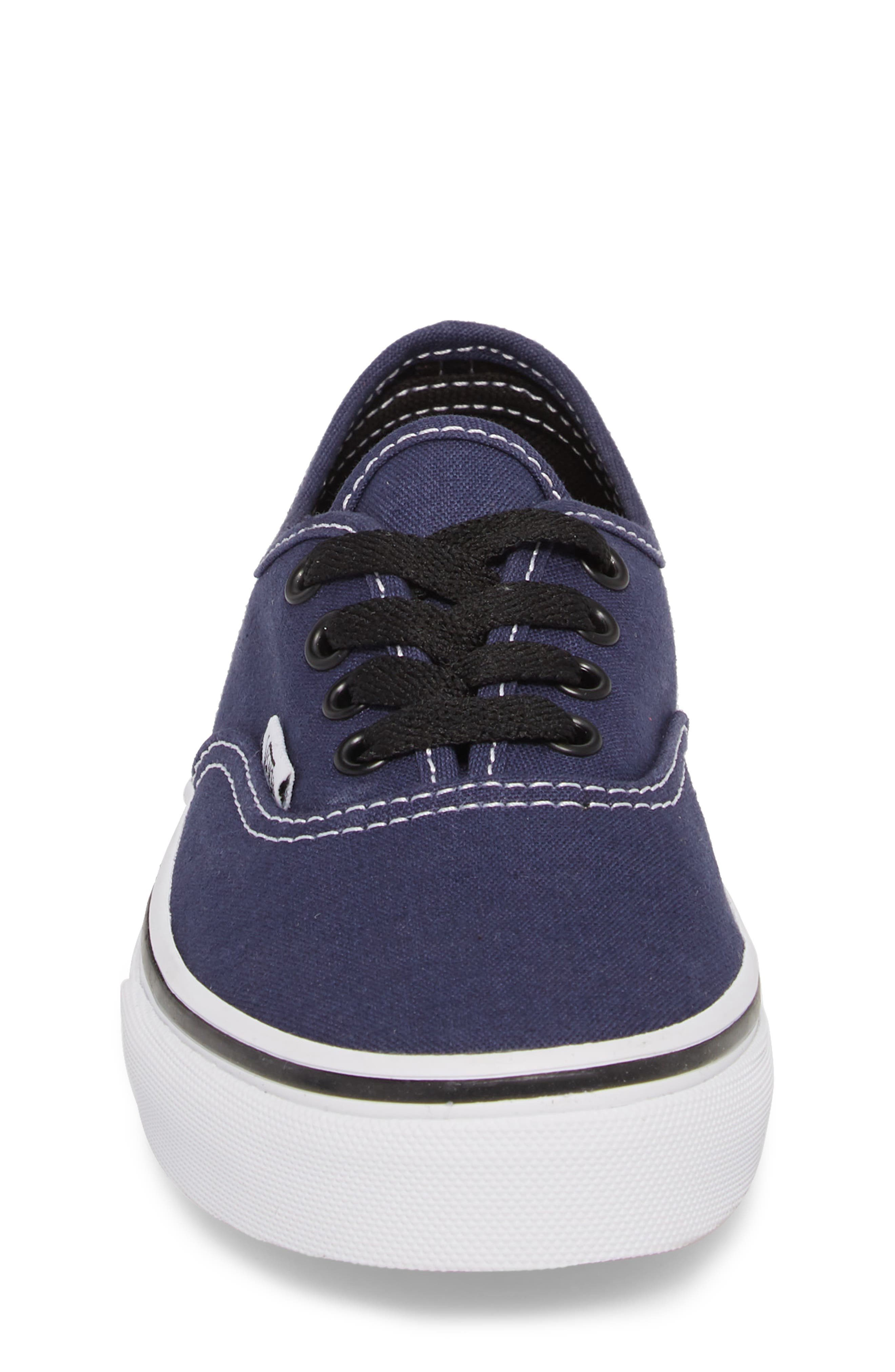 Authentic Sneaker,                             Alternate thumbnail 4, color,                             MEDIEVAL BLUE/ BLACK