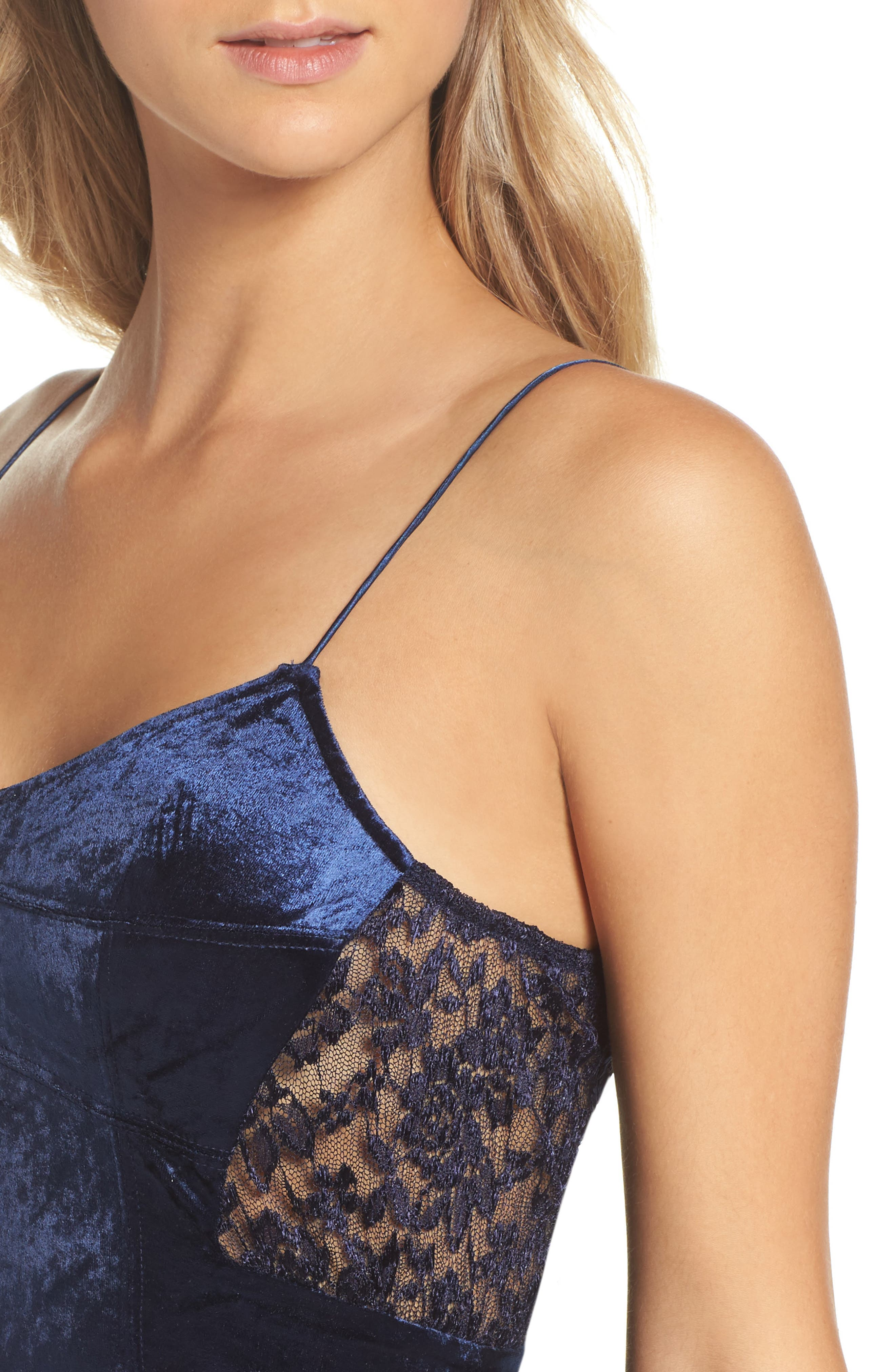 Intimately FP Velvet Chemise,                             Alternate thumbnail 4, color,                             400