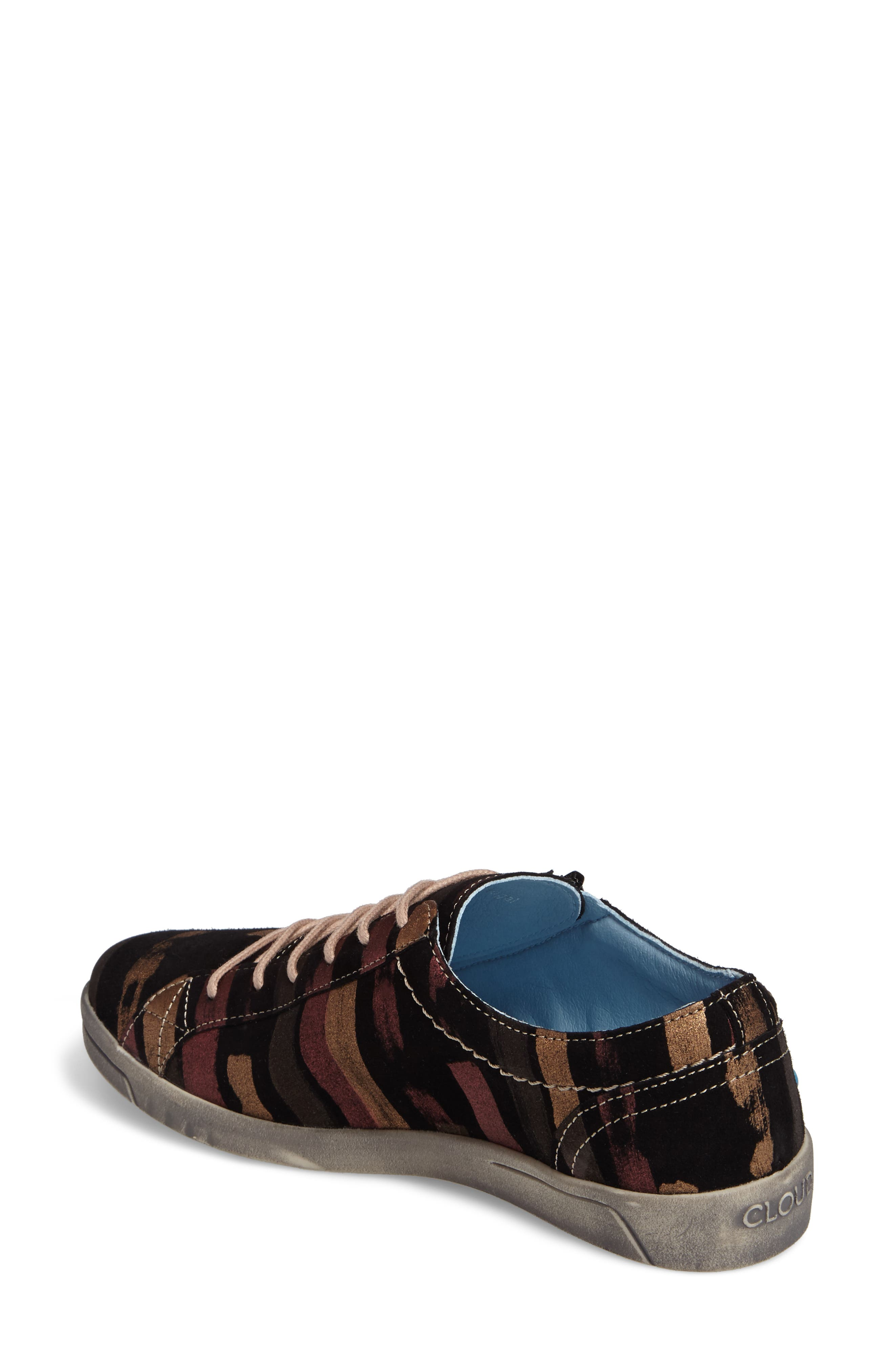 Aika Low Top Sneaker,                             Alternate thumbnail 2, color,                             BLACK LEATHER