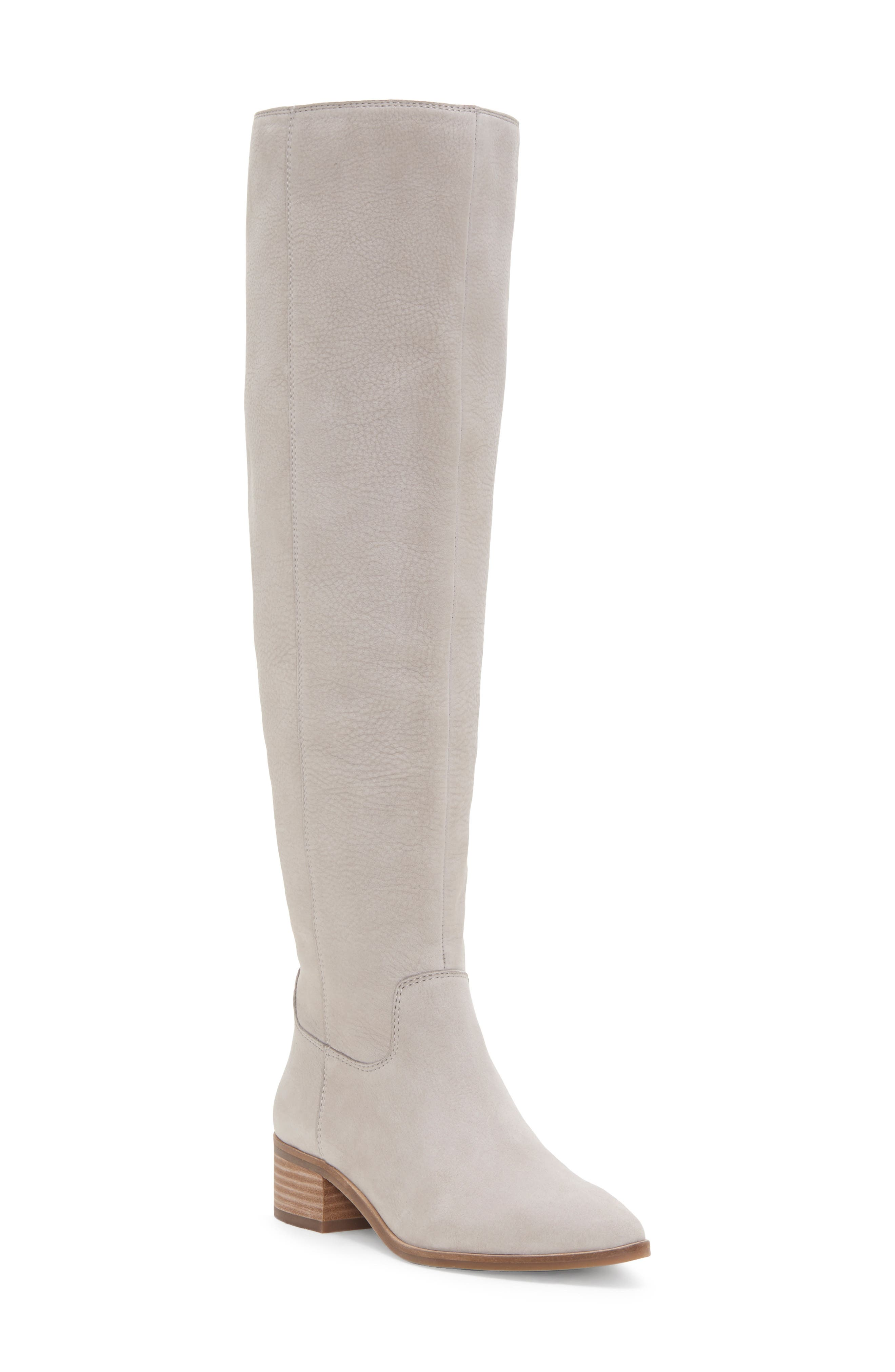 Lucky Brand Kitrie Tall Boot, Grey