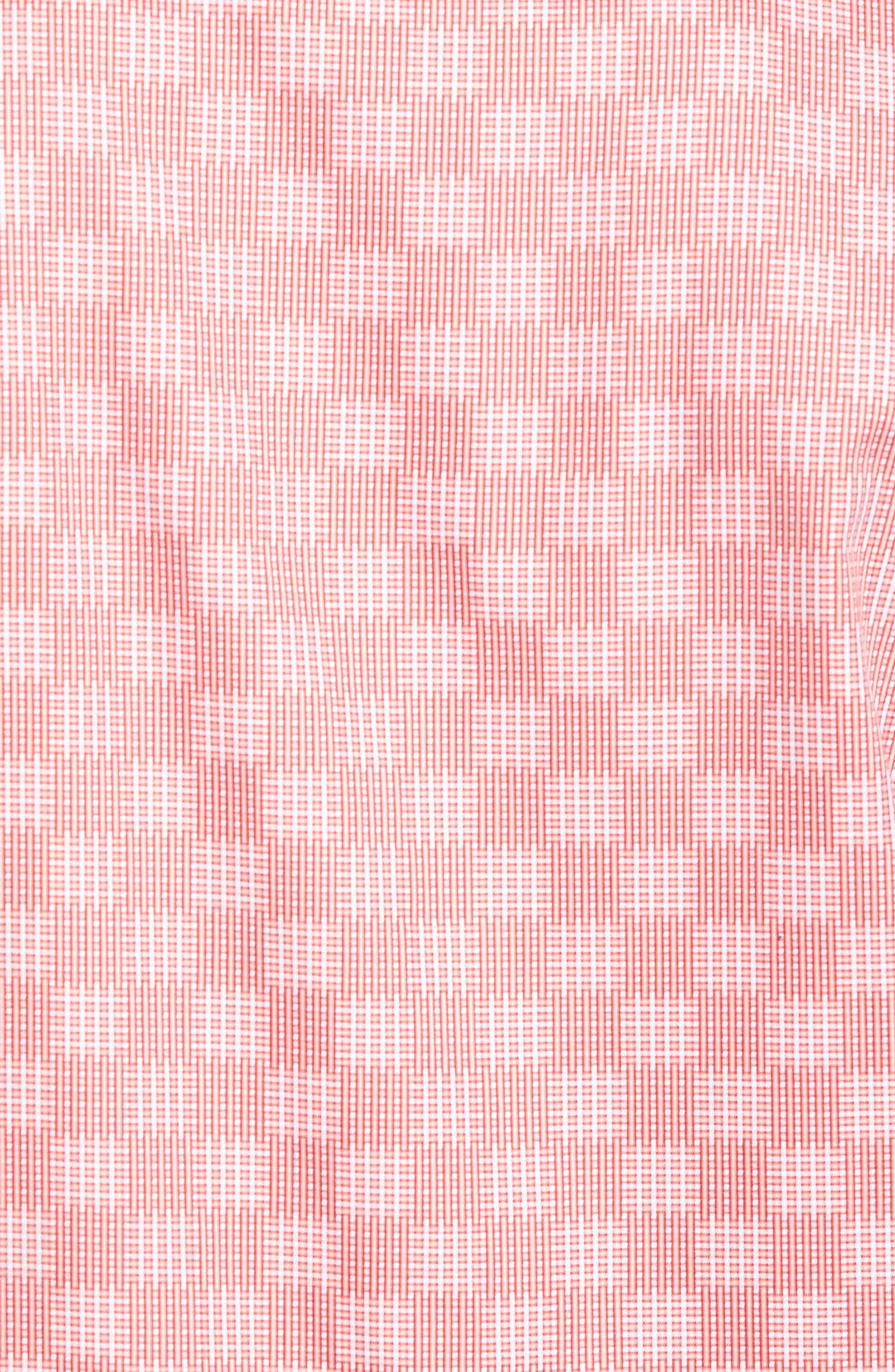 Shaped Fit Print Sport Shirt,                             Alternate thumbnail 5, color,                             953