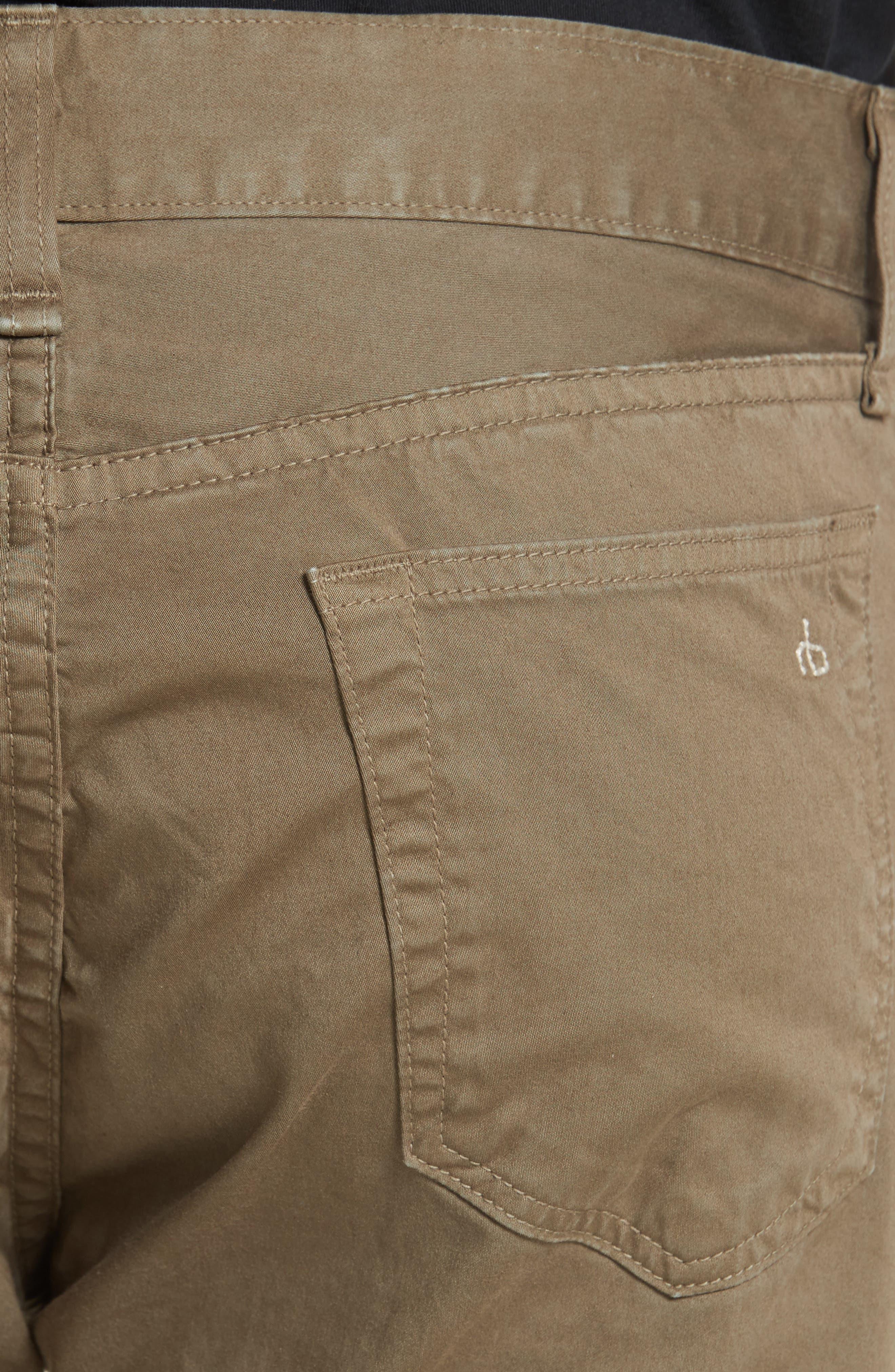Fit 2 Five-Pocket Twill Pants,                             Alternate thumbnail 5, color,                             319
