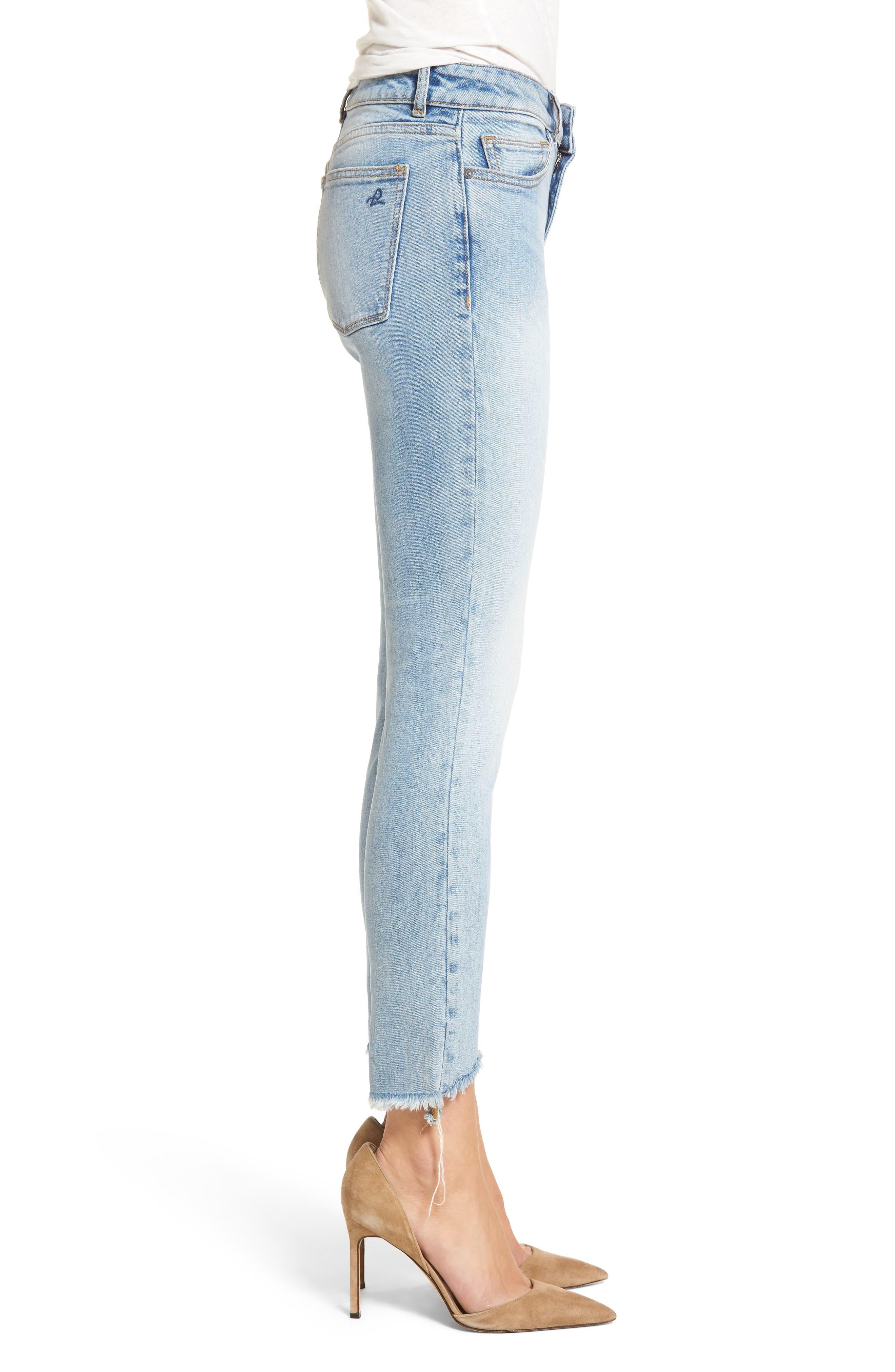 Margaux Instasculpt Ankle Skinny Jeans,                             Alternate thumbnail 3, color,                             430