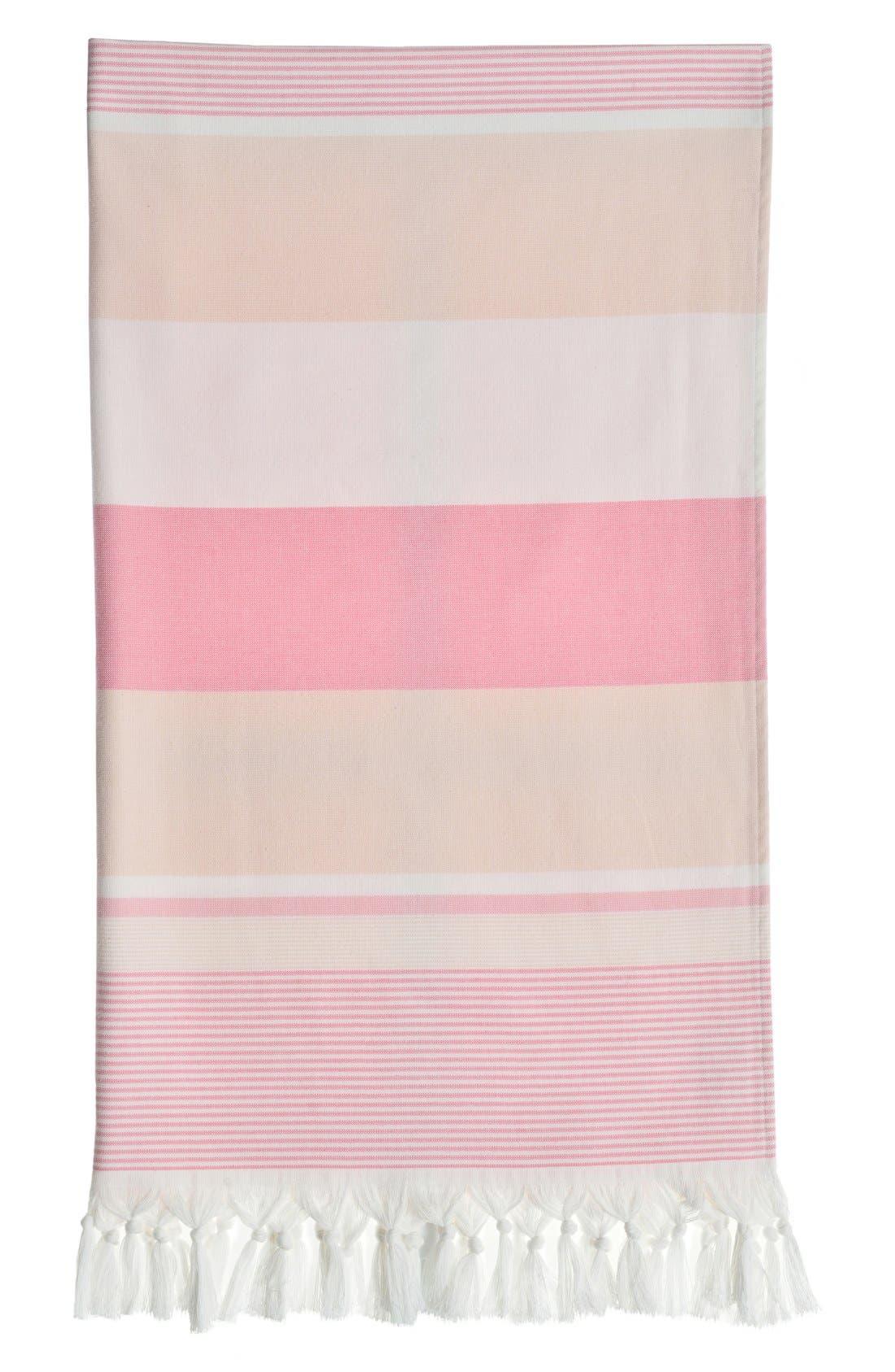 'Summer Loving' Turkish Pestemal Towel,                             Alternate thumbnail 6, color,                             650