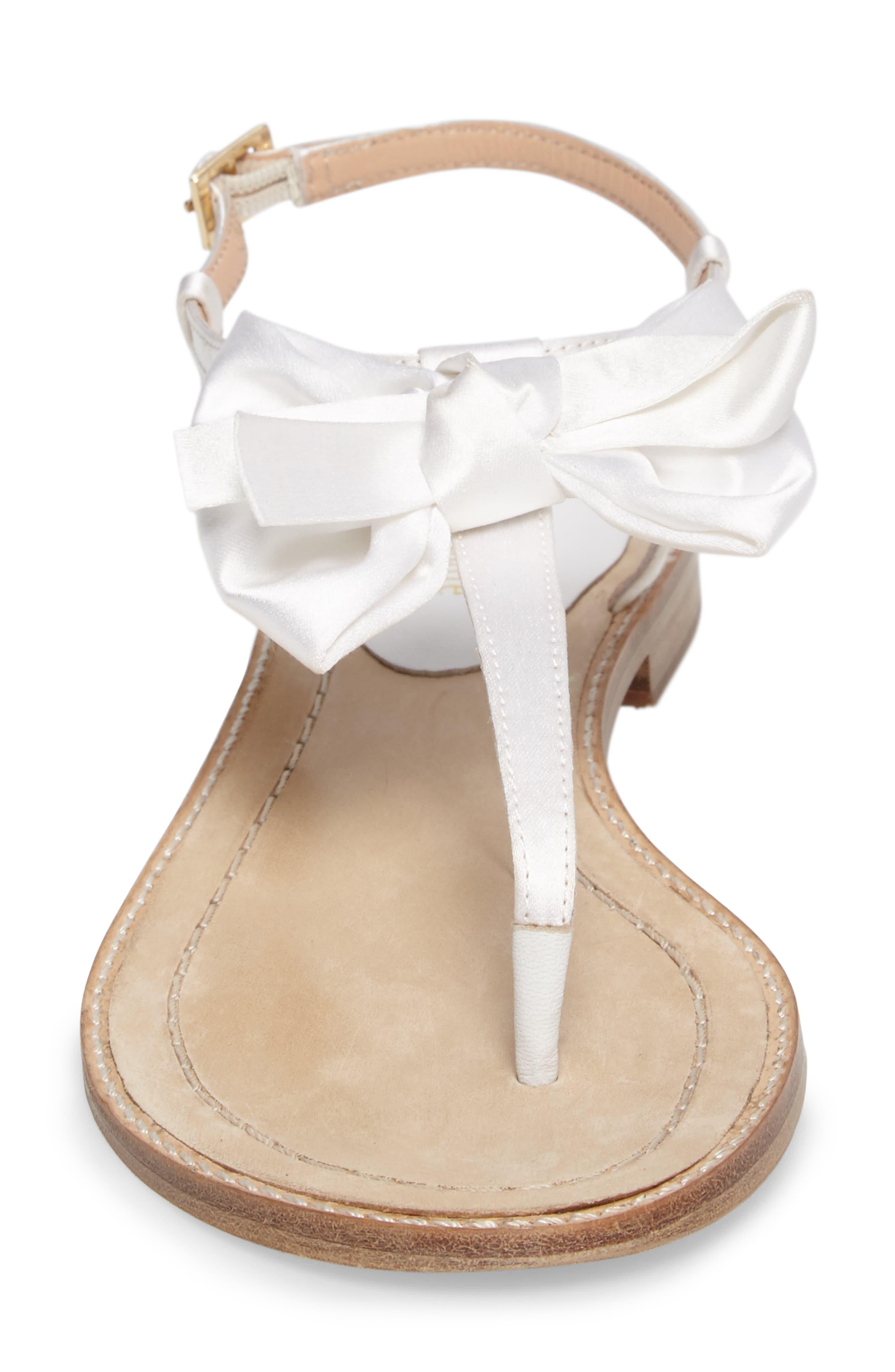 serrano bow sandal,                             Alternate thumbnail 16, color,