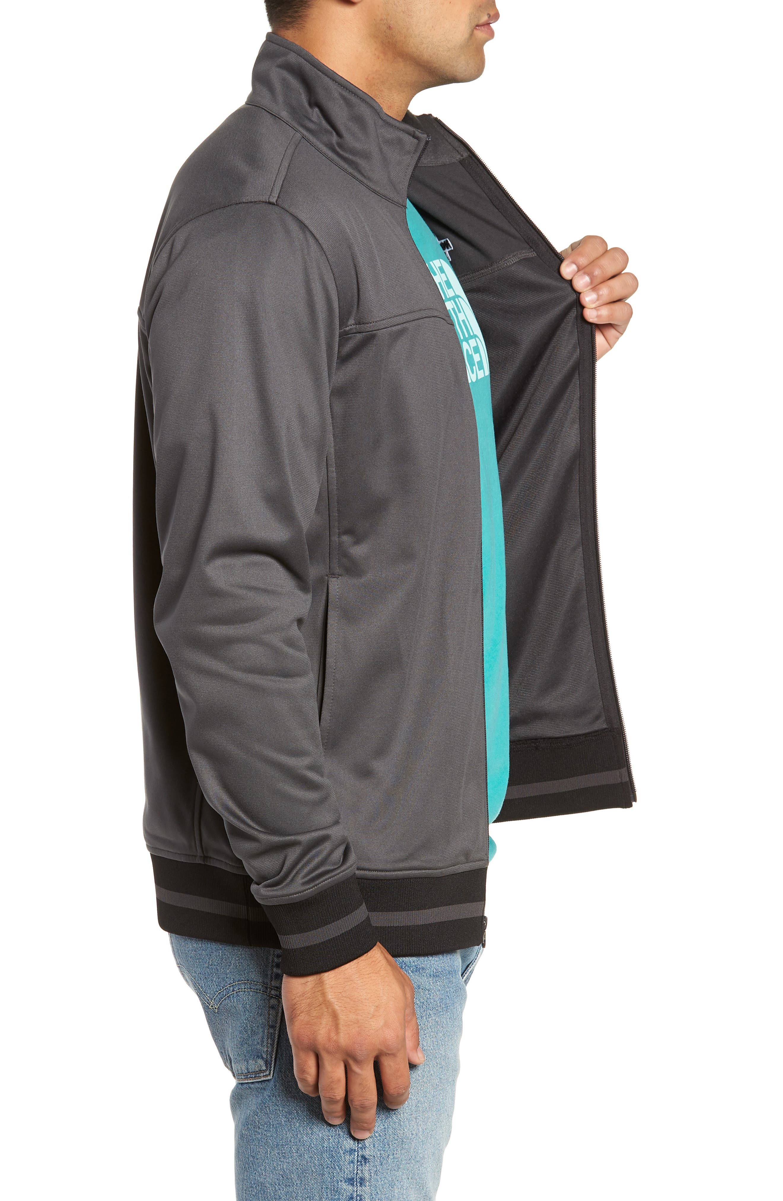 Alphabet City Track Jacket,                             Alternate thumbnail 3, color,                             ASPHALT GREY