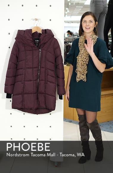 Pillow Collar Puffer Coat, sales video thumbnail