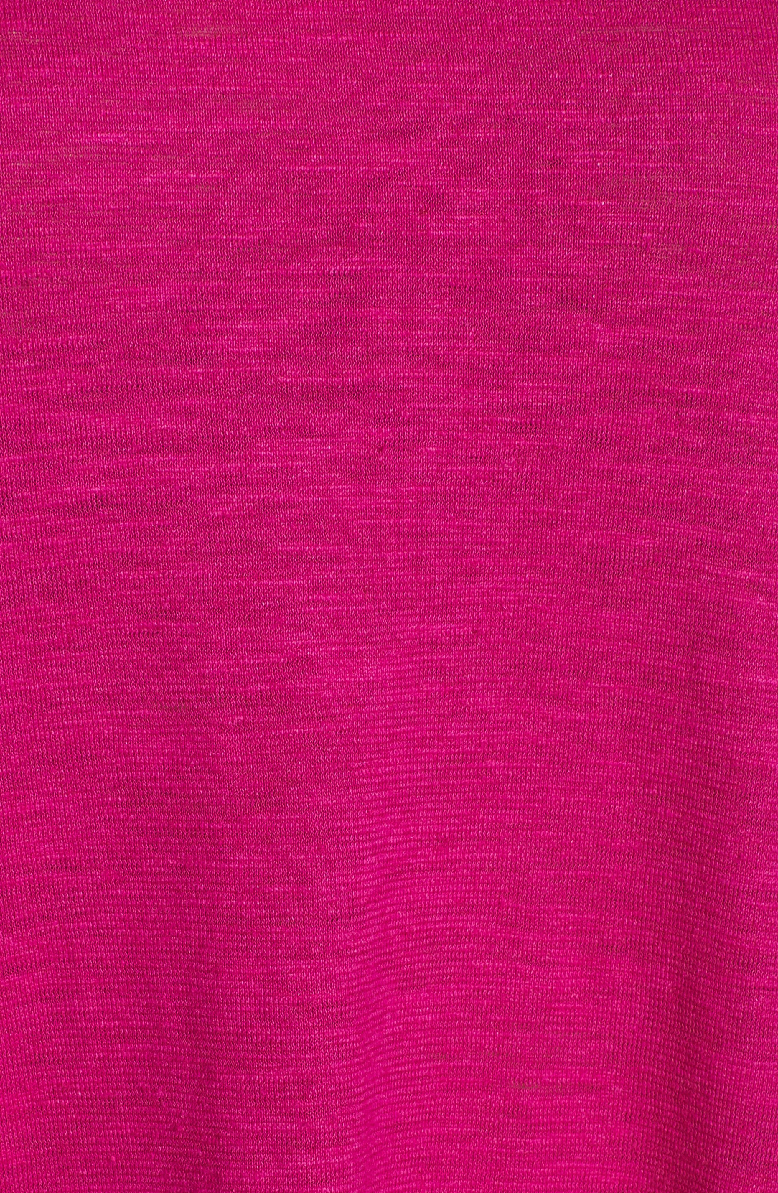 Asymmetrical Hemp Blend Shift Dress,                             Alternate thumbnail 16, color,