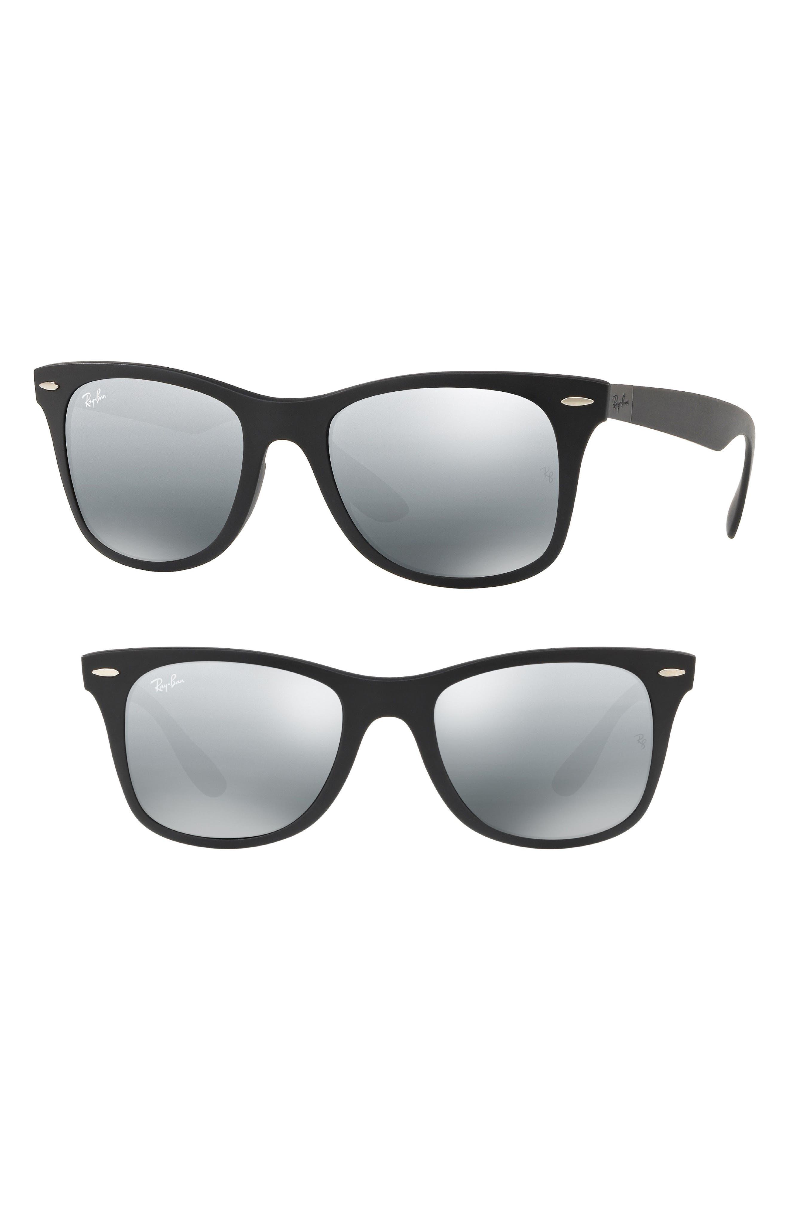 Wayfarer Liteforce 52mm Sunglasses,                             Main thumbnail 1, color,                             013