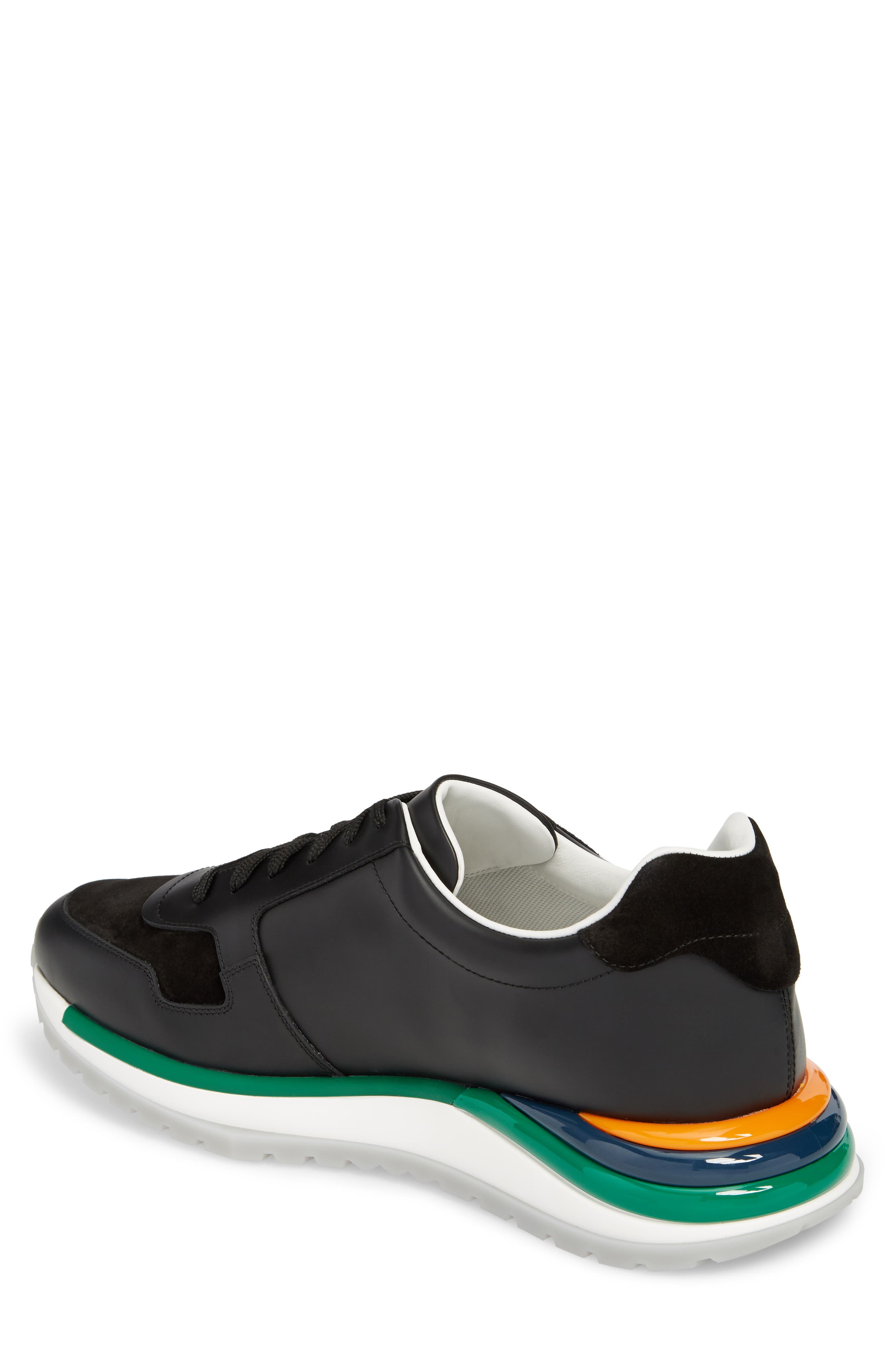 Brooklyn Running Shoe,                             Alternate thumbnail 2, color,                             NERO LEATHER
